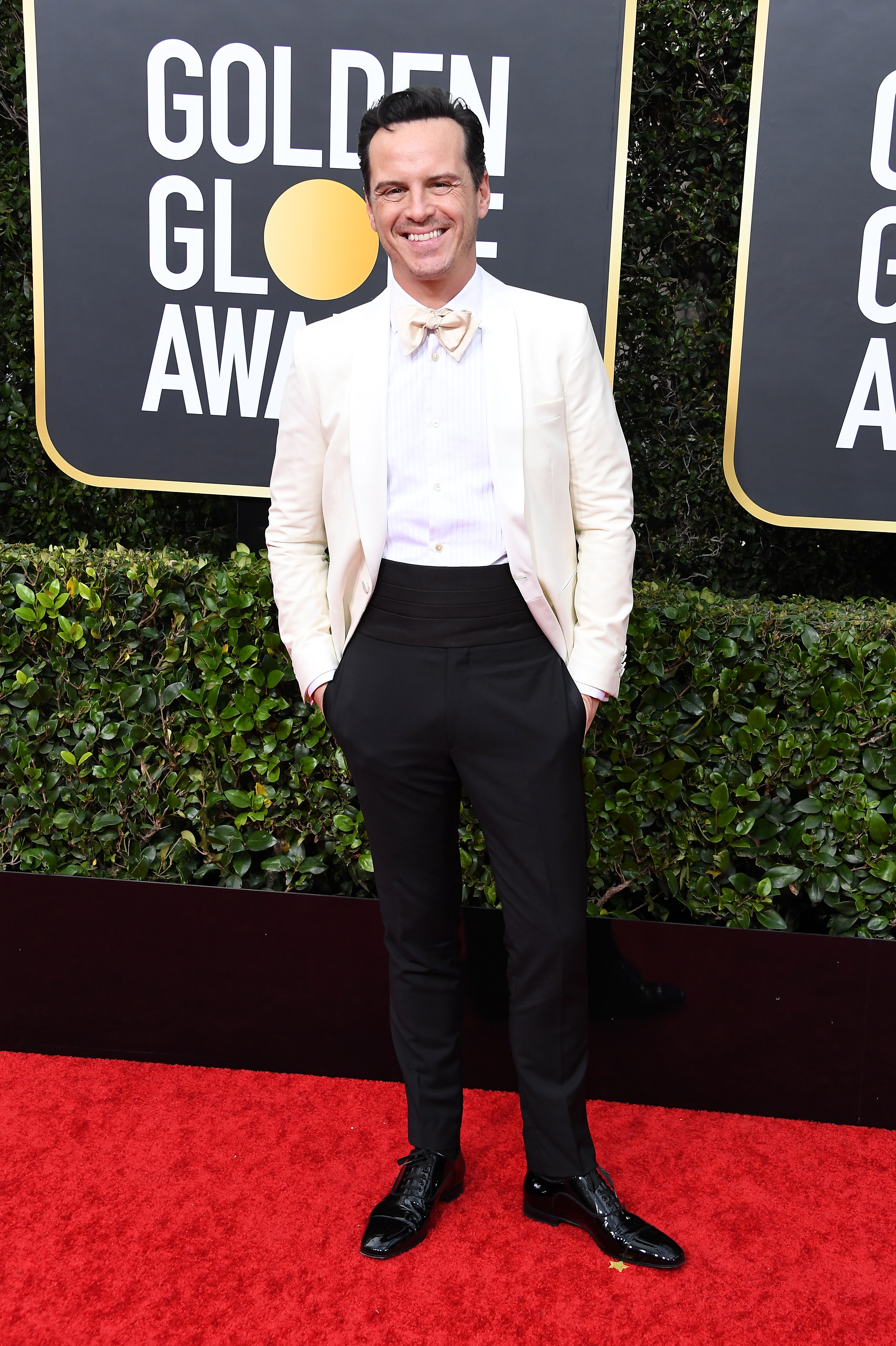 BEVERLY HILLS, CALIFORNIA - JANUARY 05: Andrew Scott attends the 77th Annual Golden Globe Awards at The Beverly Hilton Hotel on January 05, 2020 in Beverly Hills, California. (Photo by Steve Granitz/WireImage)