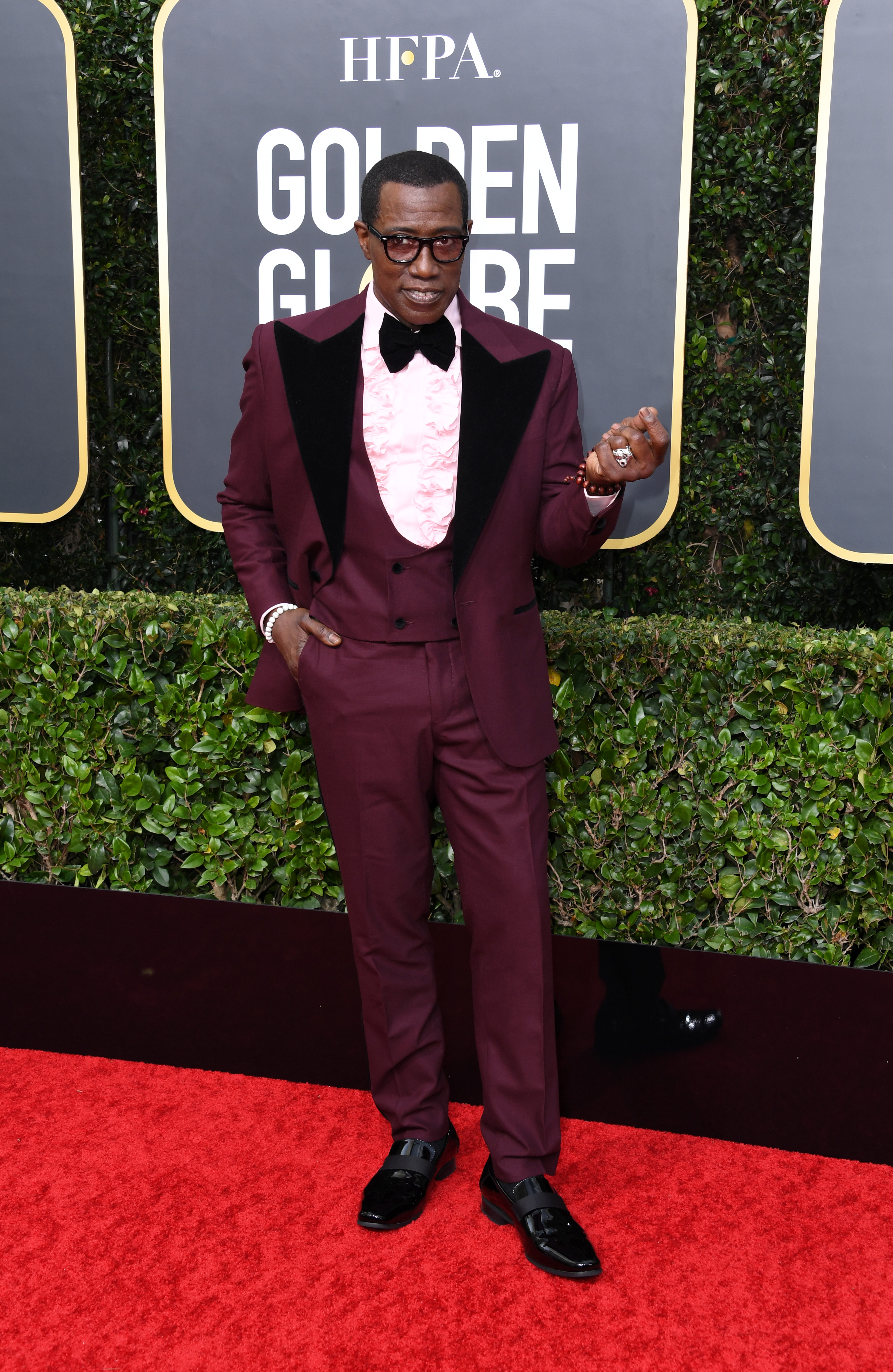 BEVERLY HILLS, CALIFORNIA - JANUARY 05: Wesley Snipes attends the 77th Annual Golden Globe Awards at The Beverly Hilton Hotel on January 05, 2020 in Beverly Hills, California. (Photo by Jon Kopaloff/Getty Images)