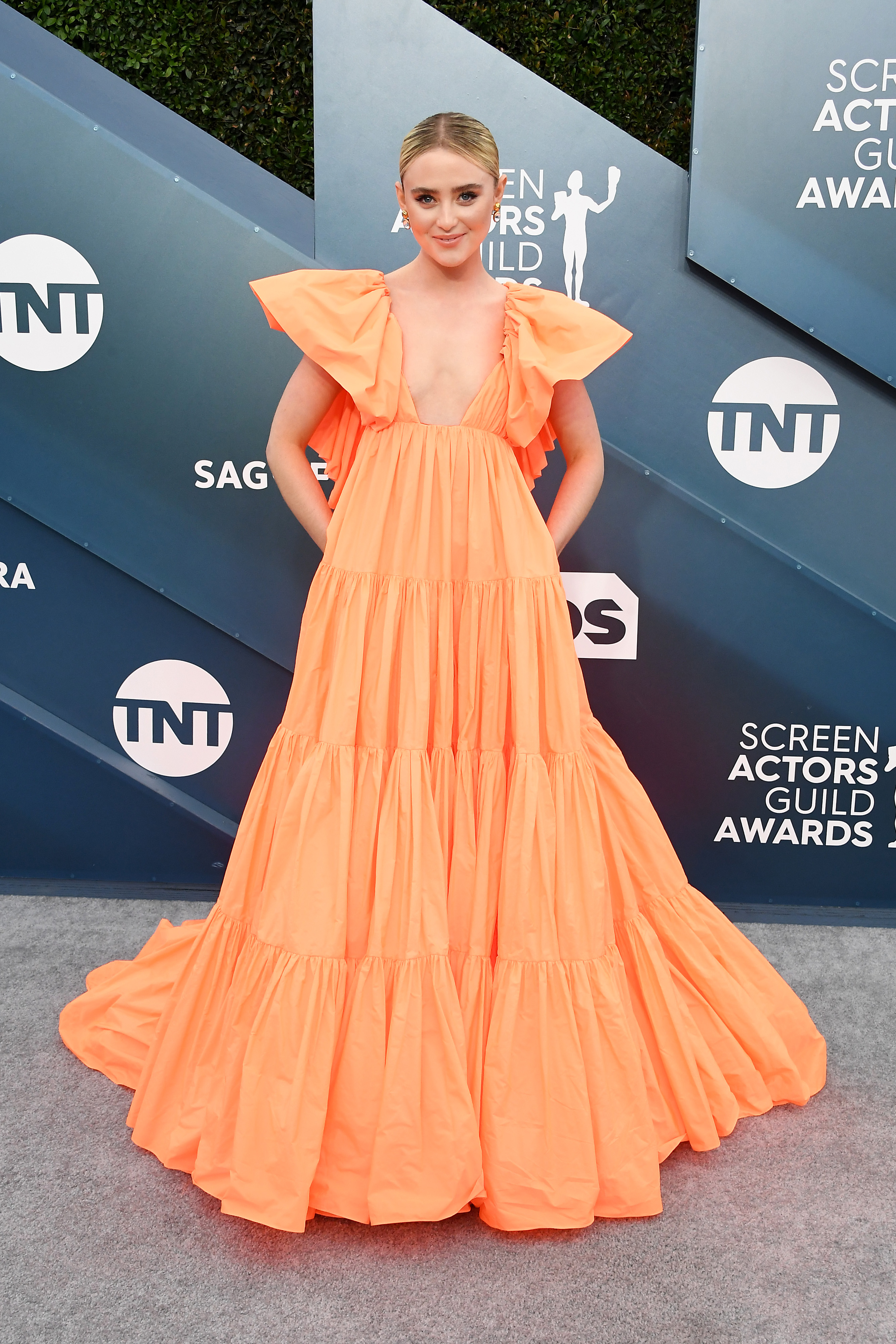 LOS ANGELES, CALIFORNIA - JANUARY 19: Kathryn Newton attends the 26th Annual Screen ActorsGuild Awards at The Shrine Auditorium on January 19, 2020 in Los Angeles, California. (Photo by Steve Granitz/WireImage)
