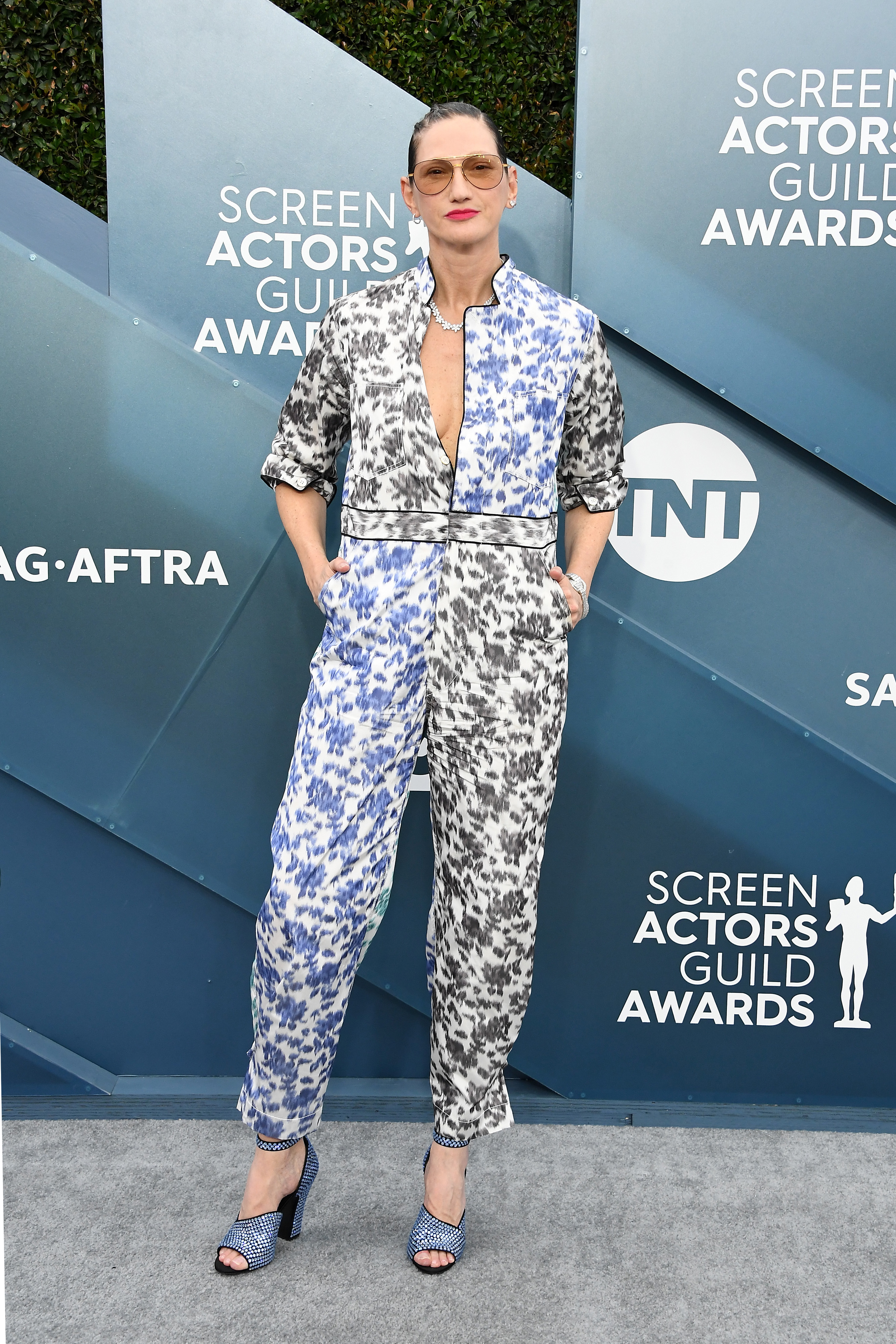 LOS ANGELES, CALIFORNIA - JANUARY 19: Jenna Lyons attends the 26th Annual Screen ActorsGuild Awards at The Shrine Auditorium on January 19, 2020 in Los Angeles, California. (Photo by Steve Granitz/WireImage)