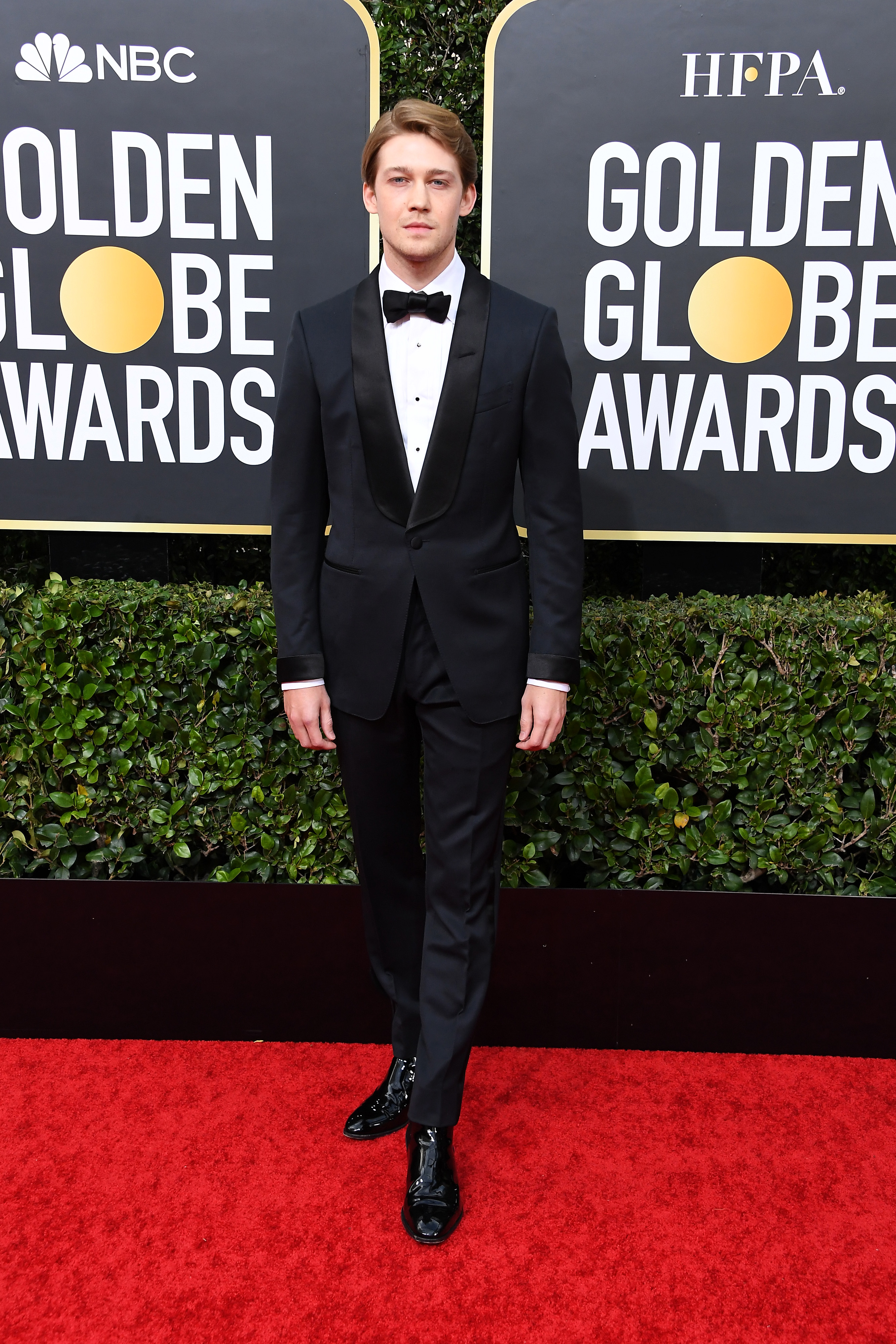BEVERLY HILLS, CALIFORNIA - JANUARY 05: Joe Alwyn attends the 77th Annual Golden Globe Awards at The Beverly Hilton Hotel on January 05, 2020 in Beverly Hills, California. (Photo by Steve Granitz/WireImage)