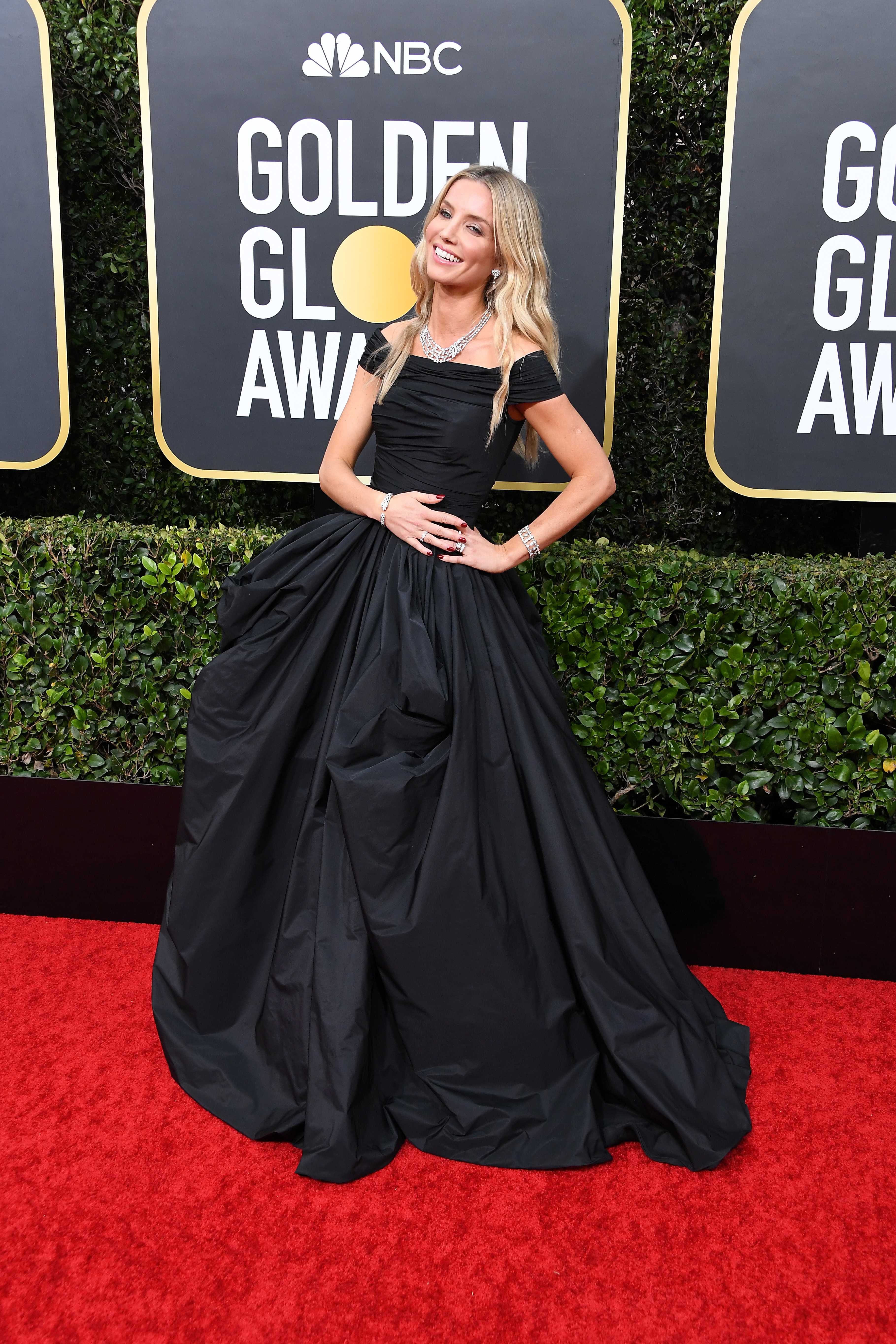 BEVERLY HILLS, CALIFORNIA - JANUARY 05: Annabelle Wallis attends the 77th Annual Golden Globe Awards at The Beverly Hilton Hotel on January 05, 2020 in Beverly Hills, California. (Photo by Steve Granitz/WireImage)