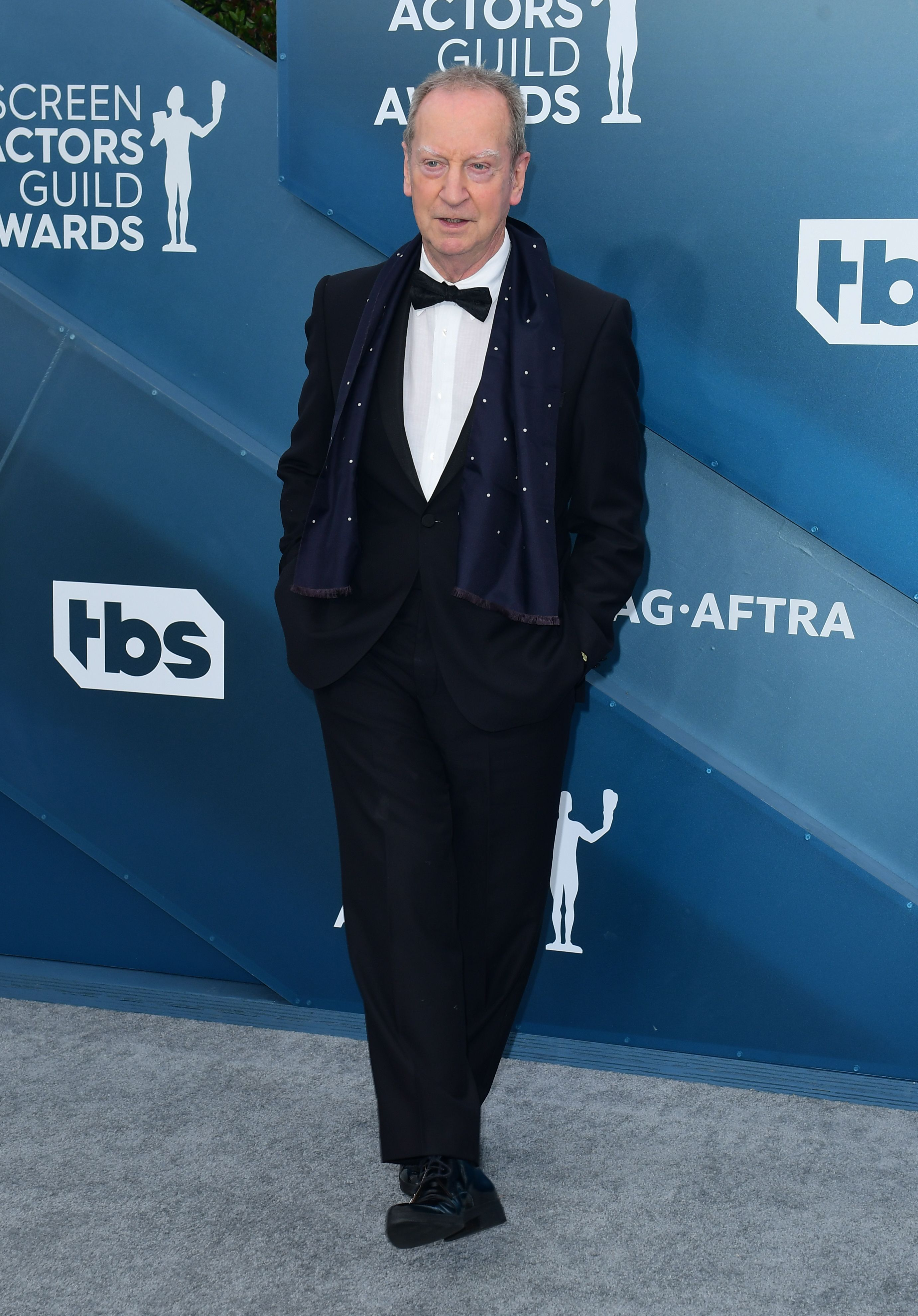Actor Bill Paterson arrives for the 26th Annual Screen Actors Guild Awards at the Shrine Auditorium in Los Angeles on January 19, 2020. (Photo by FREDERIC J. BROWN / AFP) (Photo by FREDERIC J. BROWN/AFP via Getty Images)