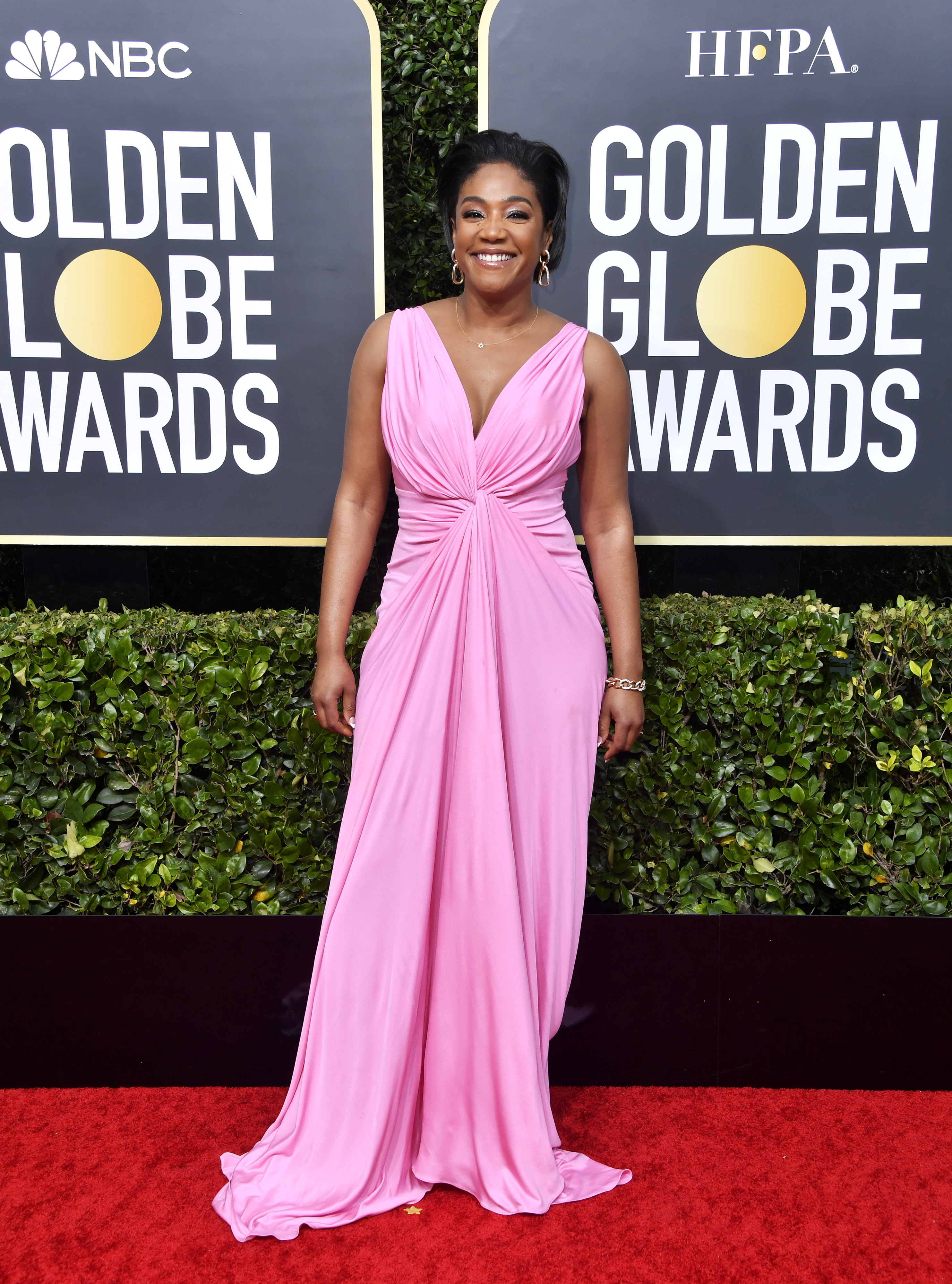 BEVERLY HILLS, CALIFORNIA - JANUARY 05: Tiffany Haddish attends the 77th Annual Golden Globe Awards at The Beverly Hilton Hotel on January 05, 2020 in Beverly Hills, California. (Photo by Frazer Harrison/Getty Images)