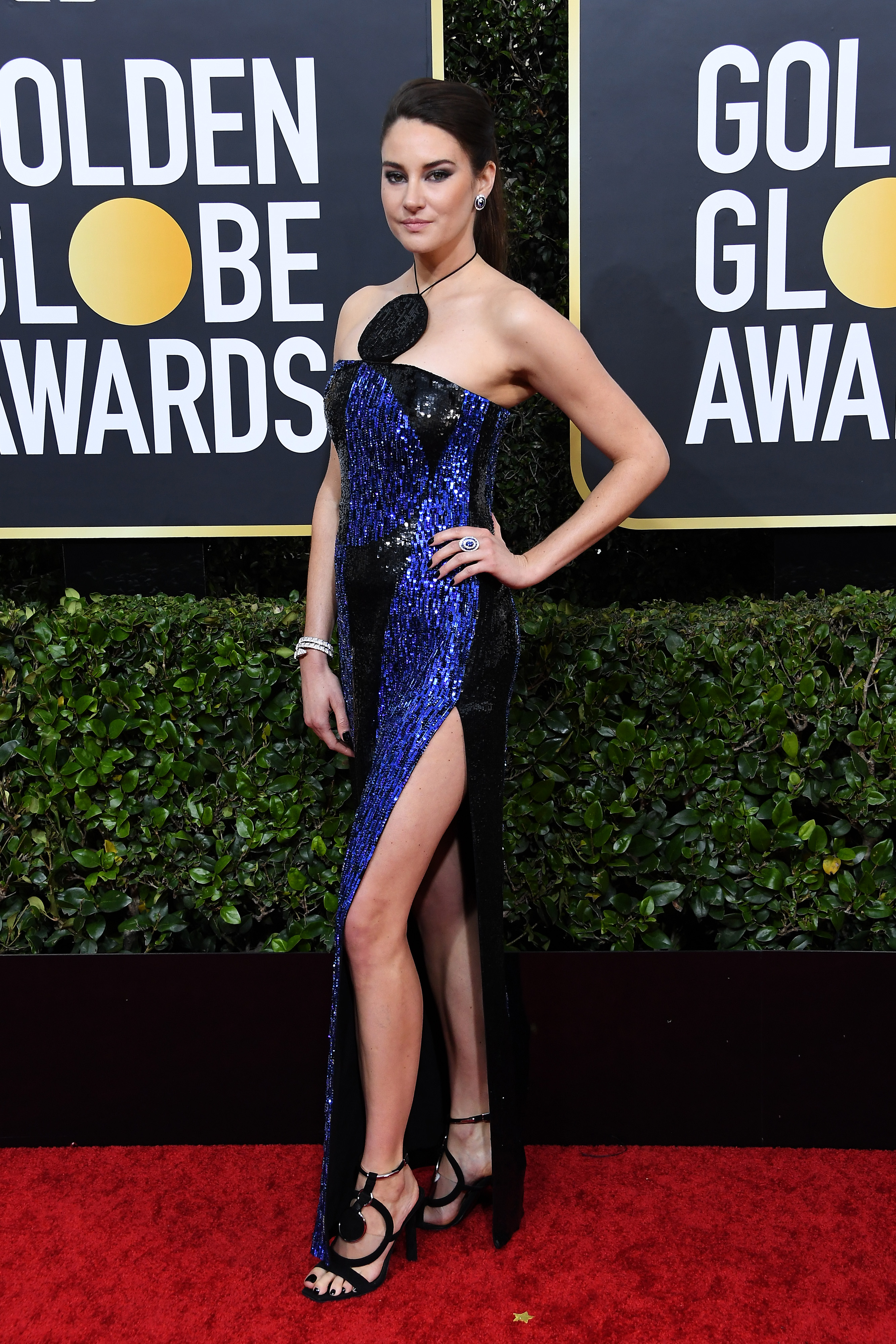BEVERLY HILLS, CALIFORNIA - JANUARY 05: Shailene Woodley attends the 77th Annual Golden Globe Awards at The Beverly Hilton Hotel on January 05, 2020 in Beverly Hills, California. (Photo by Steve Granitz/WireImage)