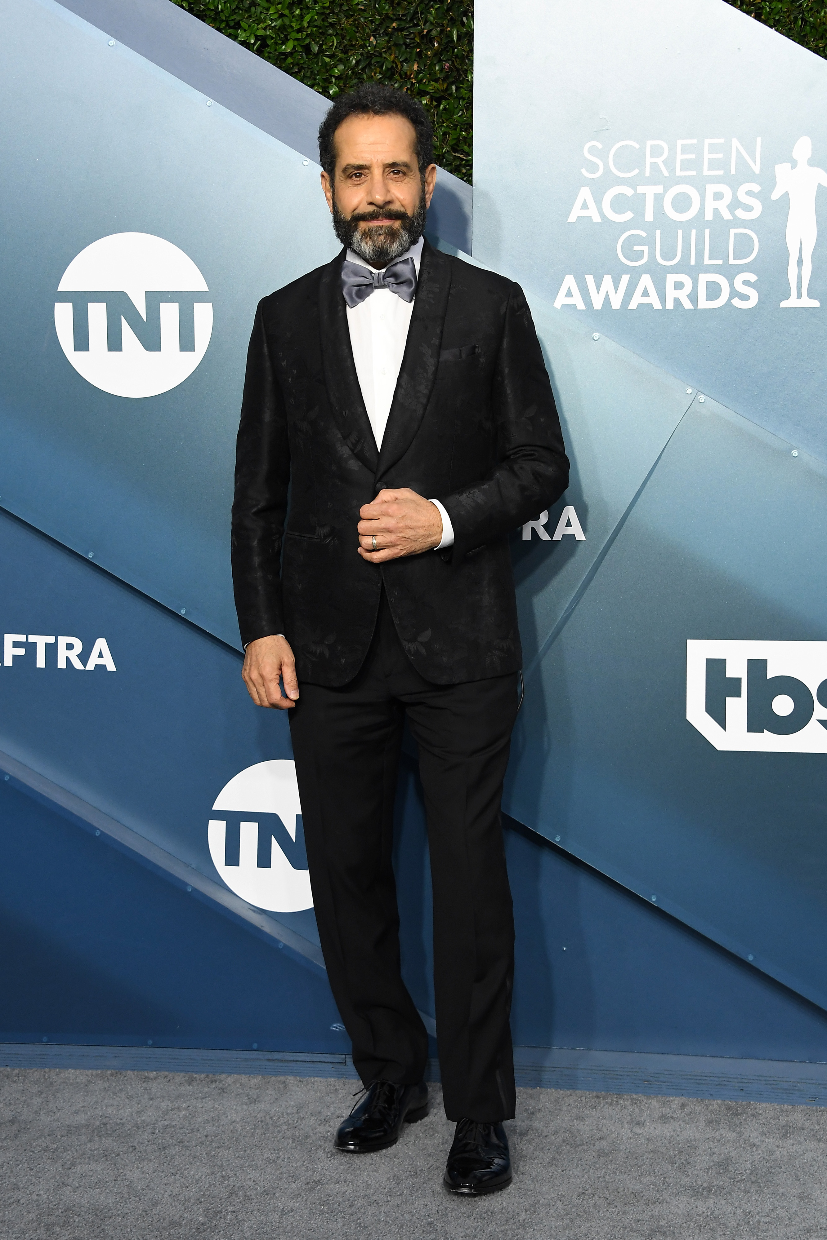 LOS ANGELES, CALIFORNIA - JANUARY 19: Tony Shalhoub attends the 26th Annual Screen ActorsGuild Awards at The Shrine Auditorium on January 19, 2020 in Los Angeles, California. (Photo by Steve Granitz/WireImage)