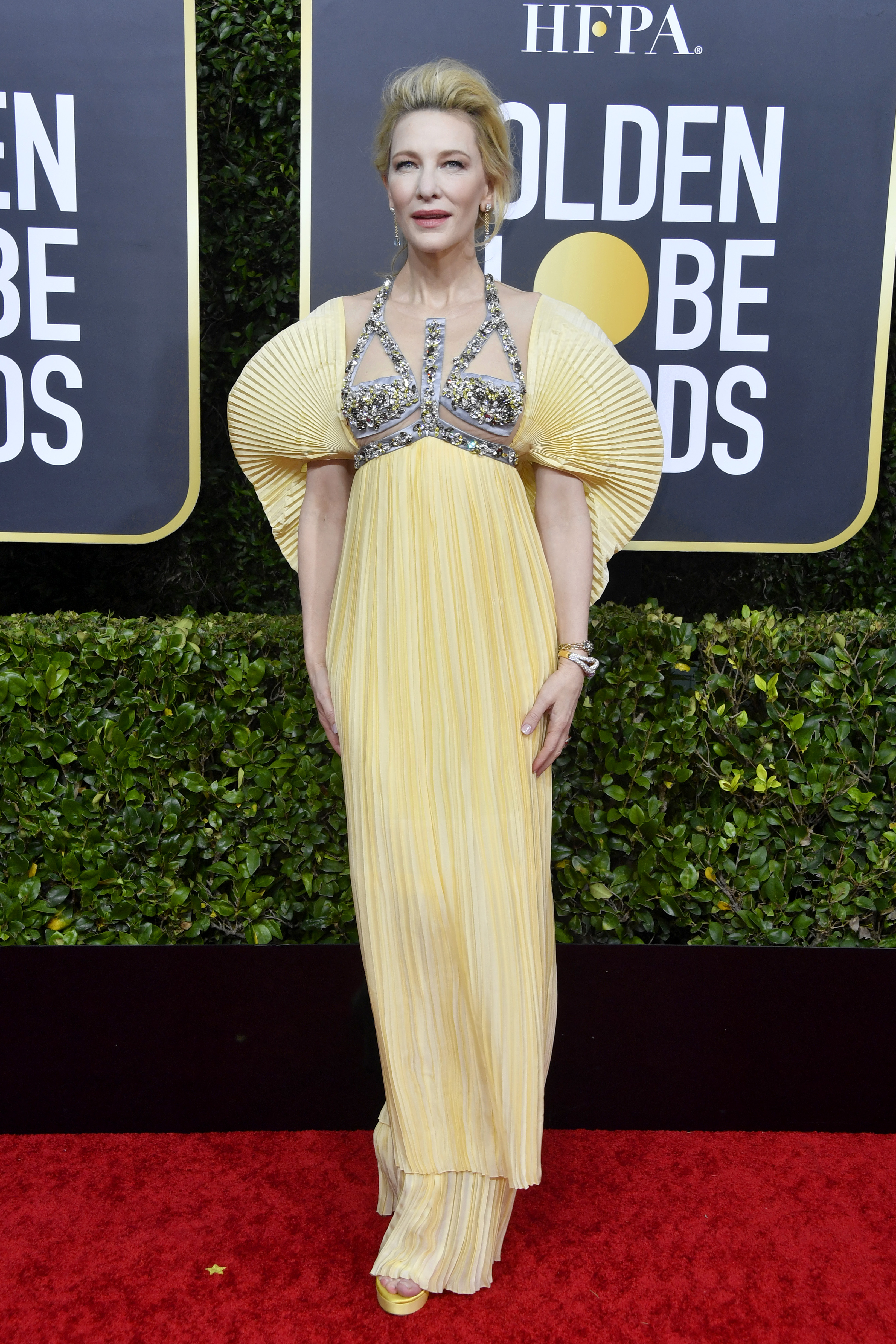 BEVERLY HILLS, CALIFORNIA - JANUARY 05: Cate Blanchett attends the 77th Annual Golden Globe Awards at The Beverly Hilton Hotel on January 05, 2020 in Beverly Hills, California. (Photo by Frazer Harrison/Getty Images)