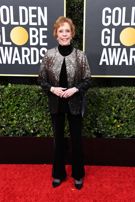 BEVERLY HILLS, CALIFORNIA - JANUARY 05: Carol Burnett attends the 77th Annual Golden Globe Awards at The Beverly Hilton Hotel on January 05, 2020 in Beverly Hills, California. (Photo by Steve Granitz/WireImage)
