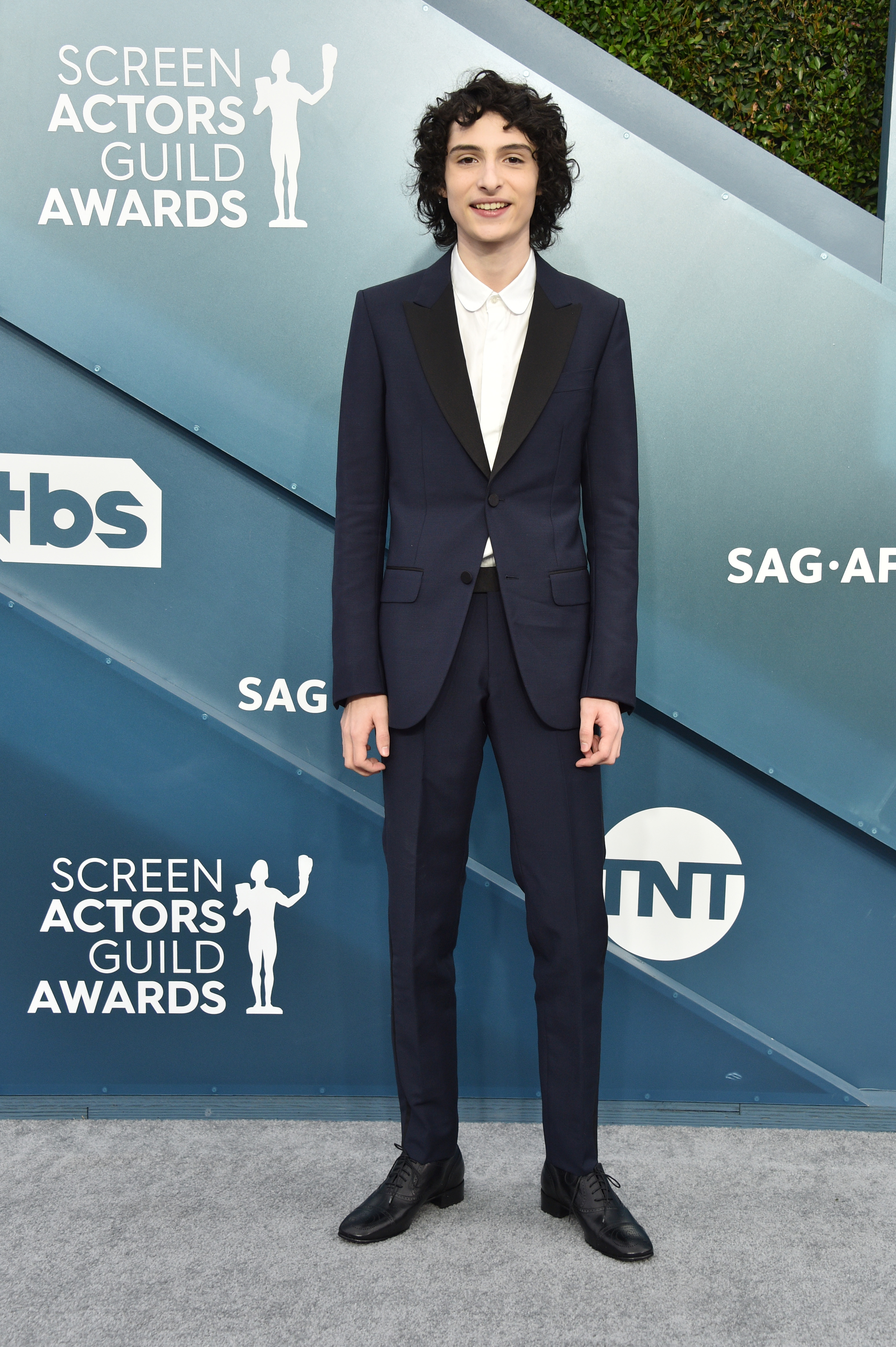 LOS ANGELES, CALIFORNIA - JANUARY 19: Finn Wolfhard attends the 26th Annual Screen ActorsGuild Awards at The Shrine Auditorium on January 19, 2020 in Los Angeles, California. 721430 (Photo by Gregg DeGuire/Getty Images for Turner)