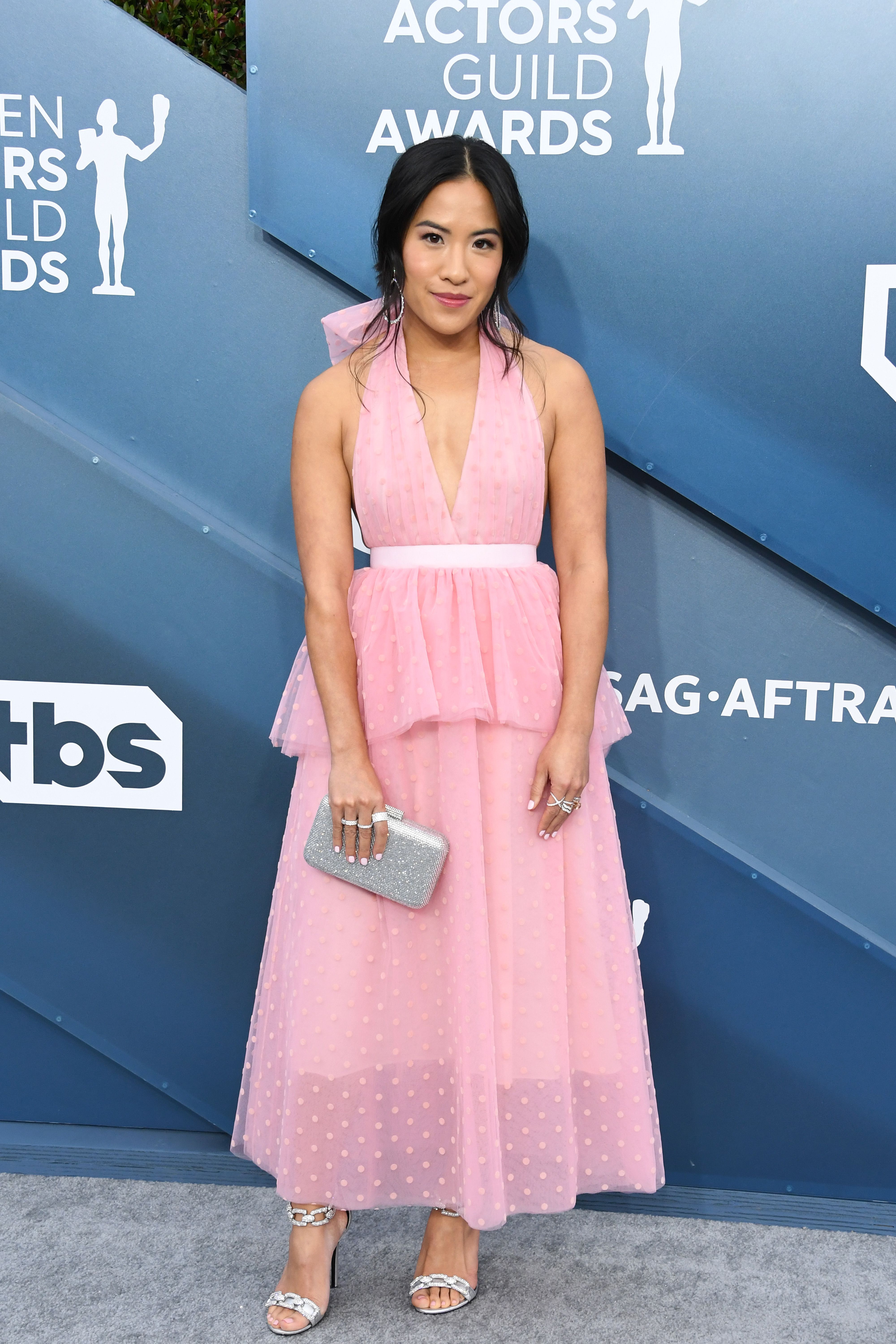 LOS ANGELES, CALIFORNIA - JANUARY 19: Melissa Tang attends the 26th Annual Screen ActorsGuild Awards at The Shrine Auditorium on January 19, 2020 in Los Angeles, California. (Photo by Jon Kopaloff/Getty Images)