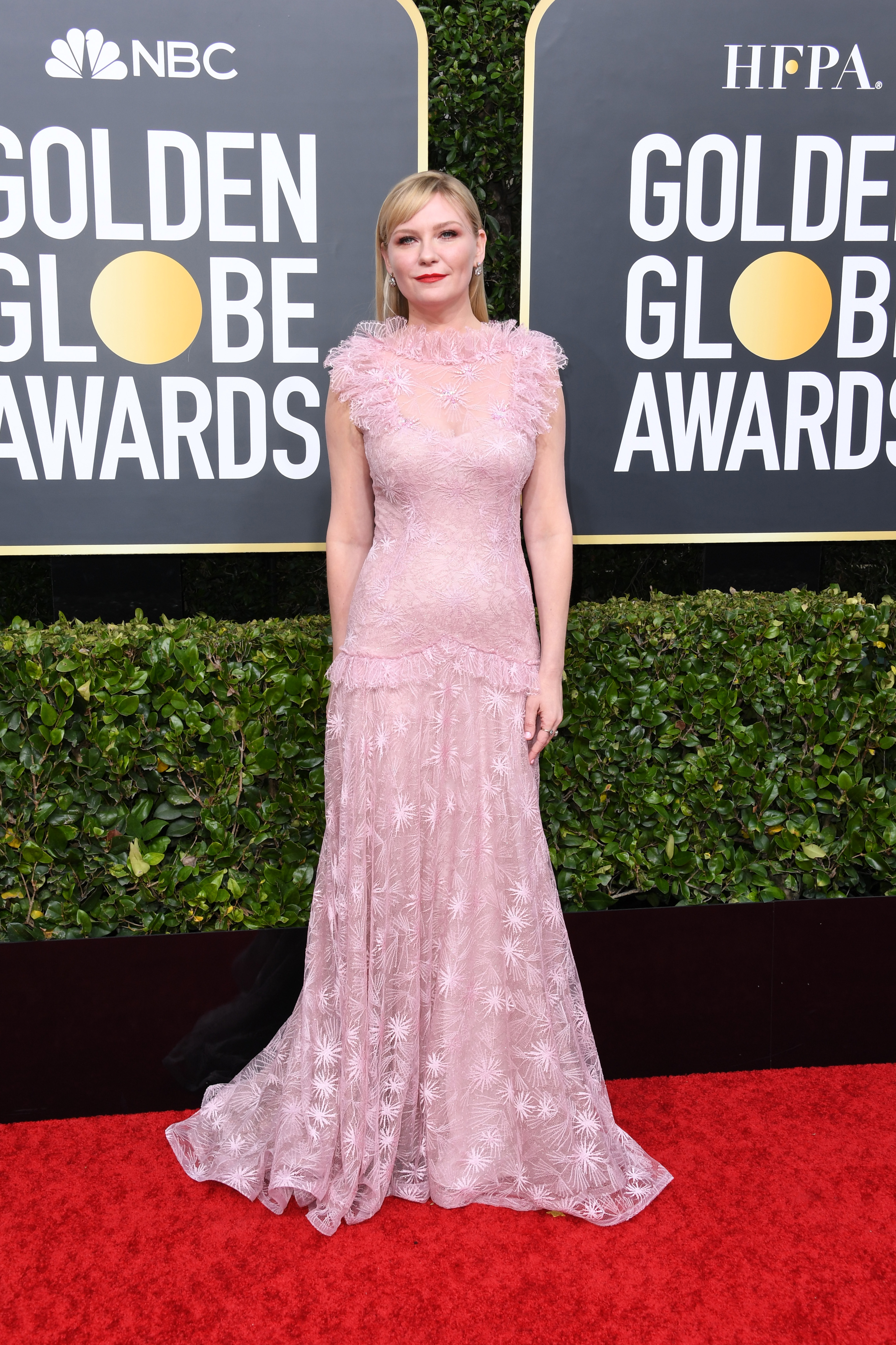 BEVERLY HILLS, CALIFORNIA - JANUARY 05: Kirsten Dunst attends the 77th Annual Golden Globe Awards at The Beverly Hilton Hotel on January 05, 2020 in Beverly Hills, California. (Photo by Jon Kopaloff/Getty Images)