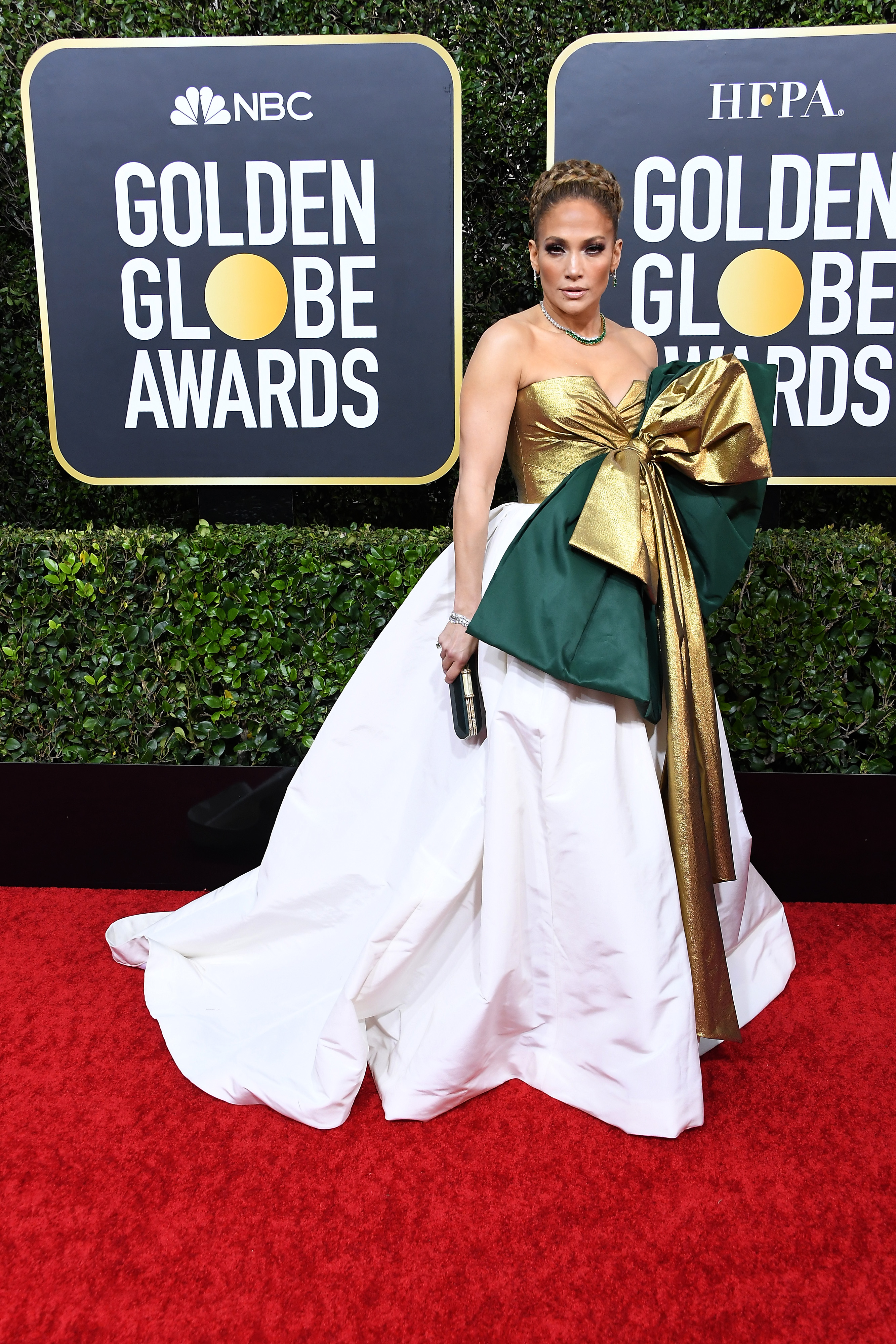 BEVERLY HILLS, CALIFORNIA - JANUARY 05: Jennifer Lopez attends the 77th Annual Golden Globe Awards at The Beverly Hilton Hotel on January 05, 2020 in Beverly Hills, California. (Photo by Steve Granitz/WireImage)