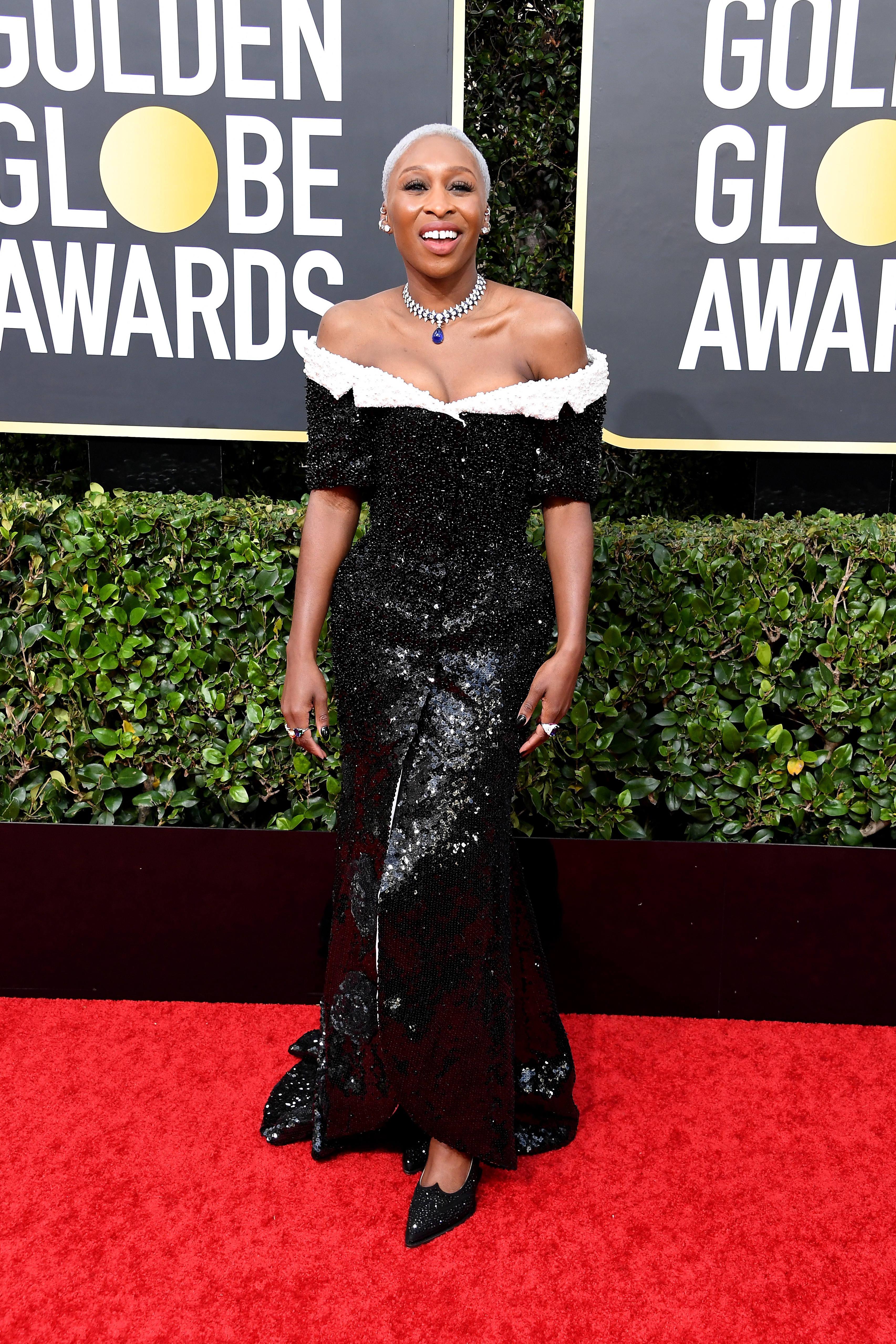 BEVERLY HILLS, CALIFORNIA - JANUARY 05: Cynthia Erivo attends the 77th Annual Golden Globe Awards at The Beverly Hilton Hotel on January 05, 2020 in Beverly Hills, California. (Photo by Steve Granitz/WireImage)