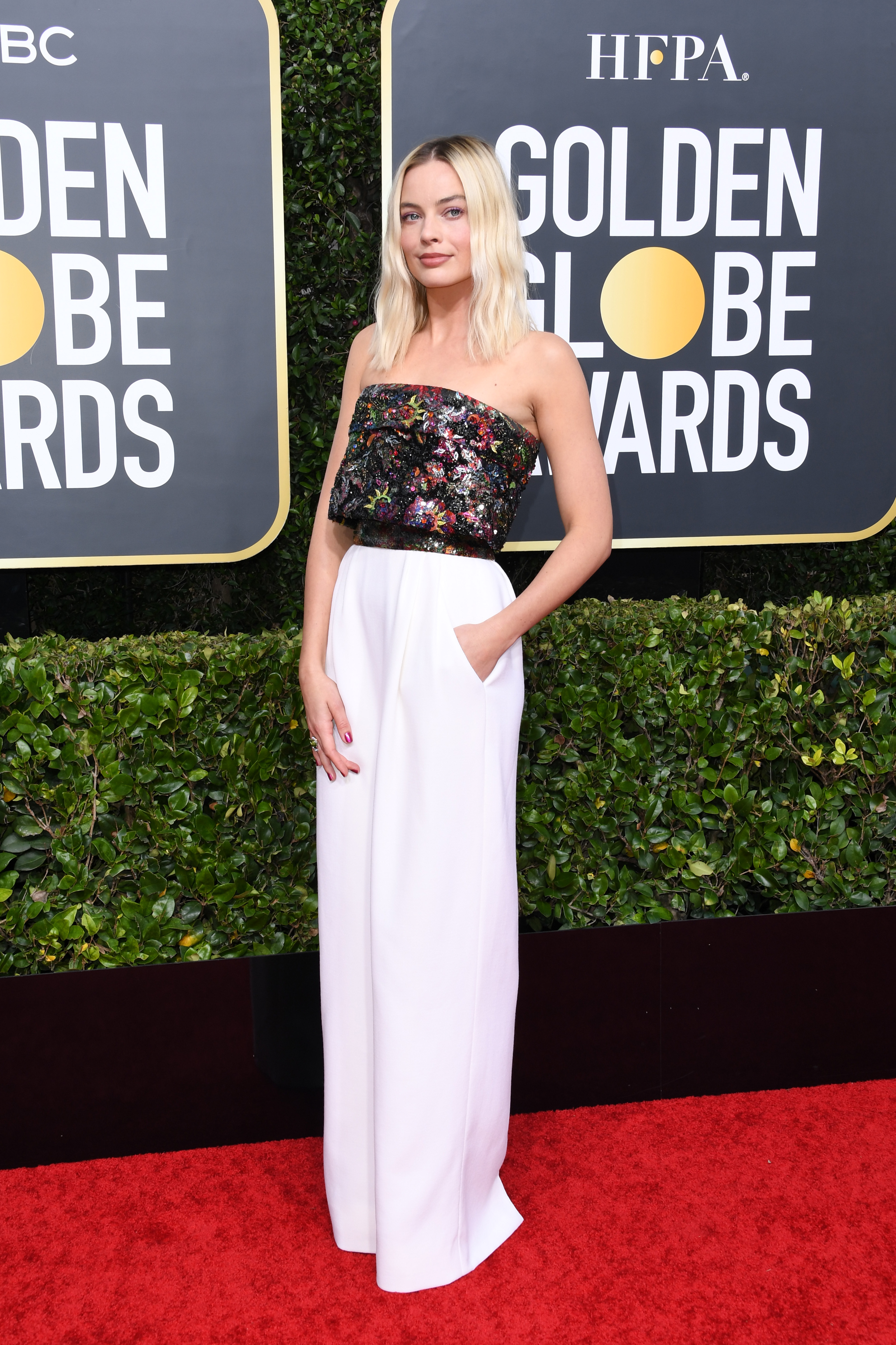 BEVERLY HILLS, CALIFORNIA - JANUARY 05: Margot Robbie attends the 77th Annual Golden Globe Awards at The Beverly Hilton Hotel on January 05, 2020 in Beverly Hills, California. (Photo by Jon Kopaloff/Getty Images)