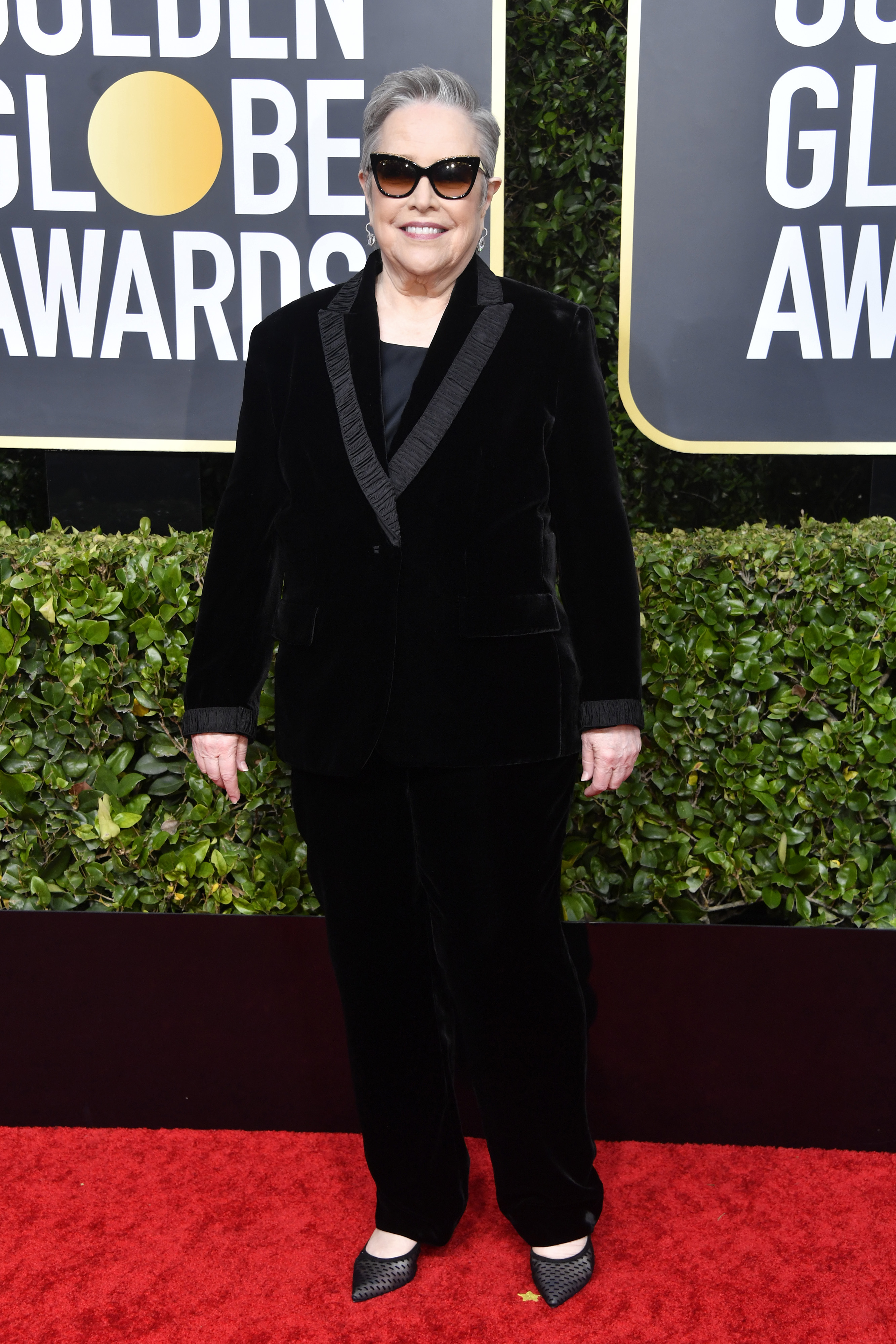 BEVERLY HILLS, CALIFORNIA - JANUARY 05: Kathy Bates attends the 77th Annual Golden Globe Awards at The Beverly Hilton Hotel on January 05, 2020 in Beverly Hills, California. (Photo by Frazer Harrison/Getty Images)