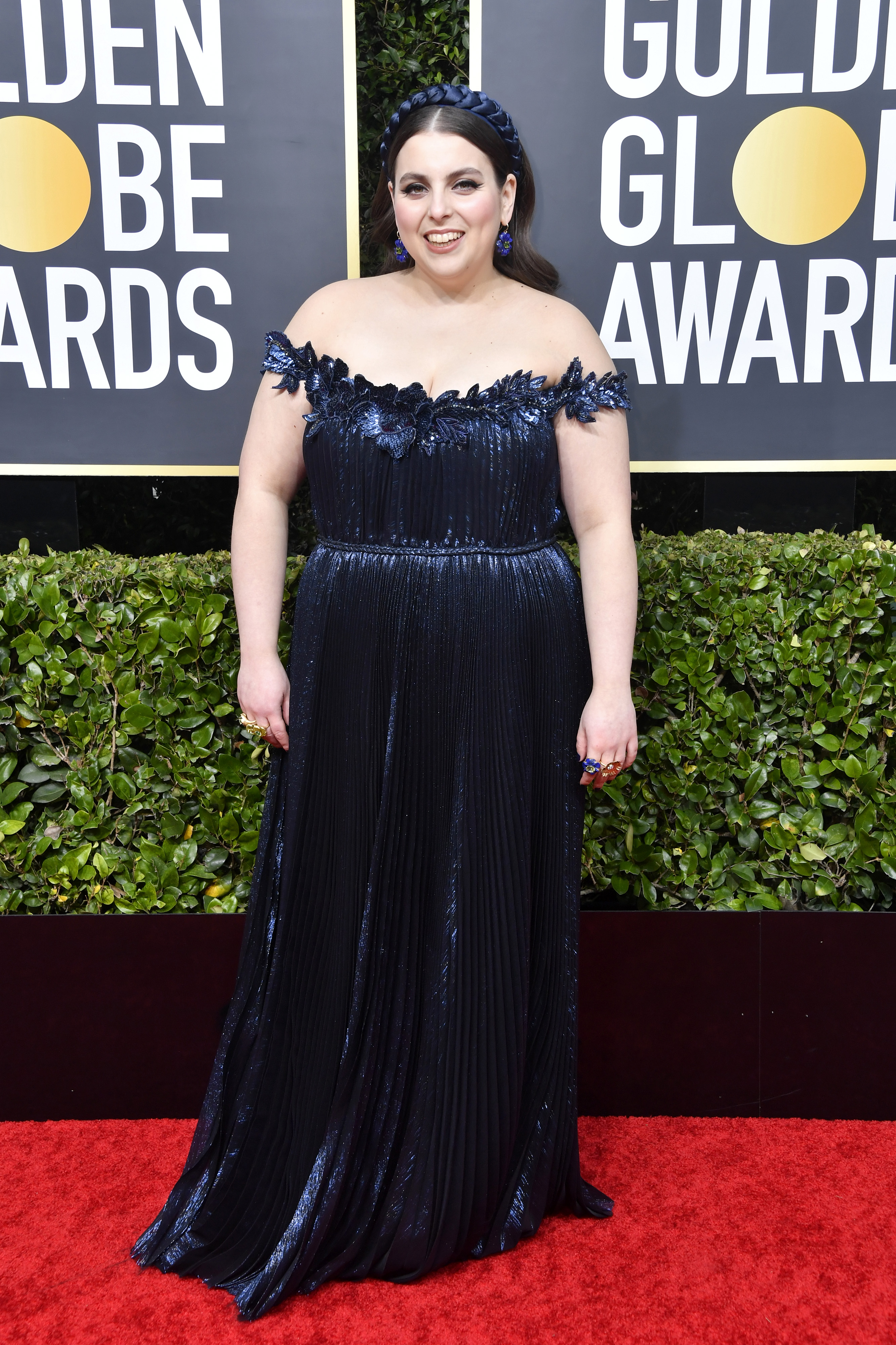 BEVERLY HILLS, CALIFORNIA - JANUARY 05: Beanie Feldstein attends the 77th Annual Golden Globe Awards at The Beverly Hilton Hotel on January 05, 2020 in Beverly Hills, California. (Photo by Frazer Harrison/Getty Images)