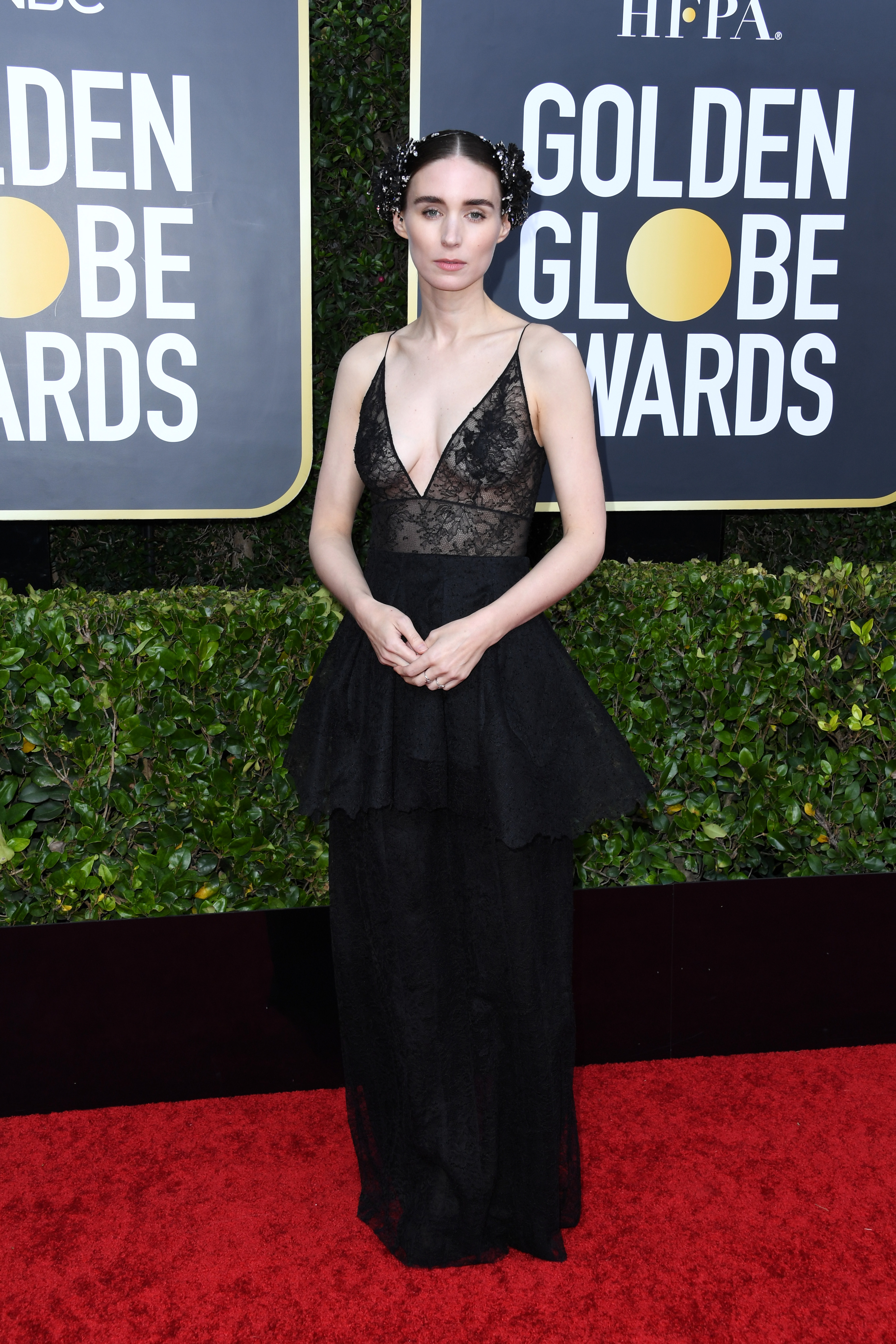 BEVERLY HILLS, CALIFORNIA - JANUARY 05: Rooney Mara attends the 77th Annual Golden Globe Awards at The Beverly Hilton Hotel on January 05, 2020 in Beverly Hills, California. (Photo by Jon Kopaloff/Getty Images)