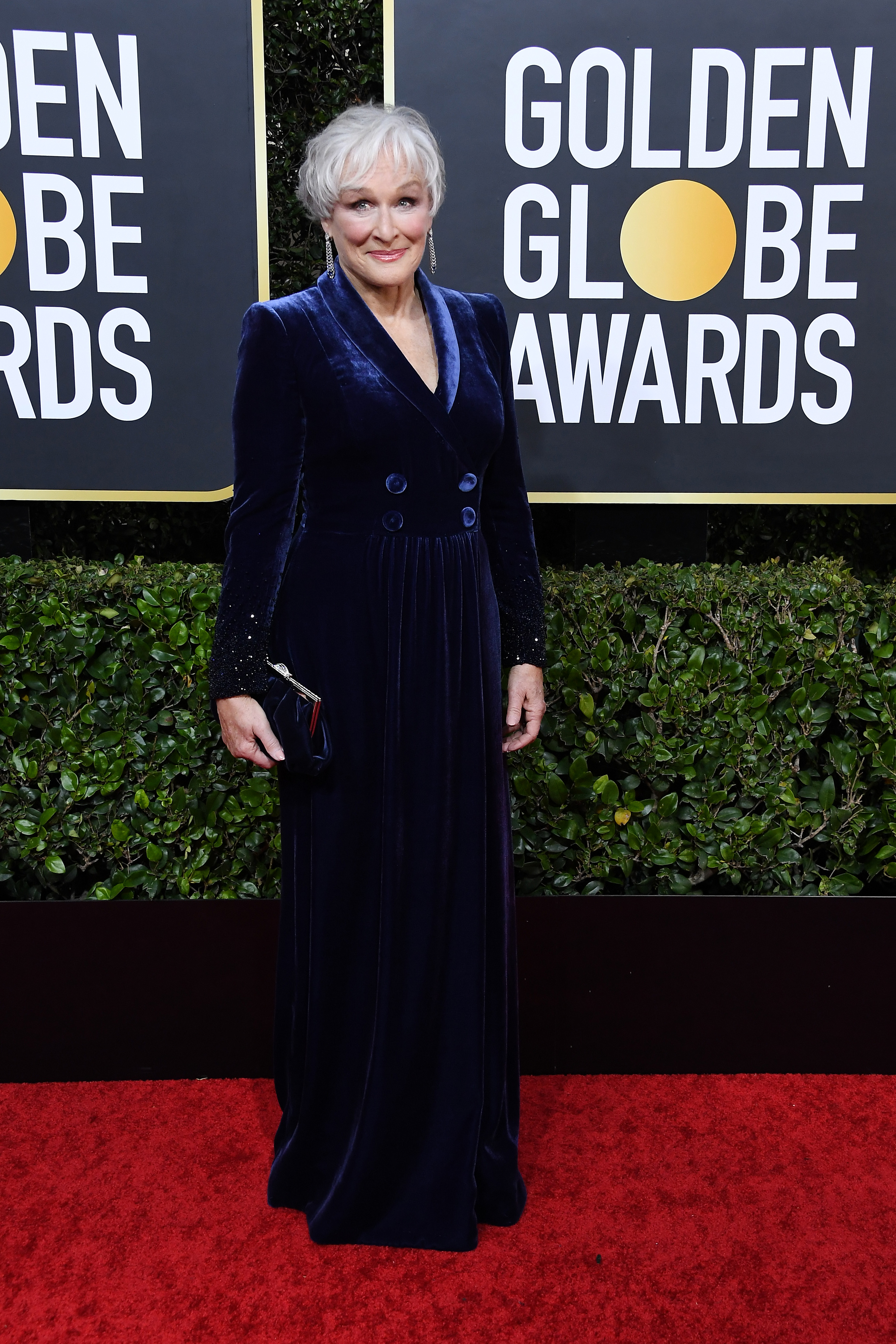 BEVERLY HILLS, CALIFORNIA - JANUARY 05: Glenn Close attends the 77th Annual Golden Globe Awards at The Beverly Hilton Hotel on January 05, 2020 in Beverly Hills, California. (Photo by Steve Granitz/WireImage)