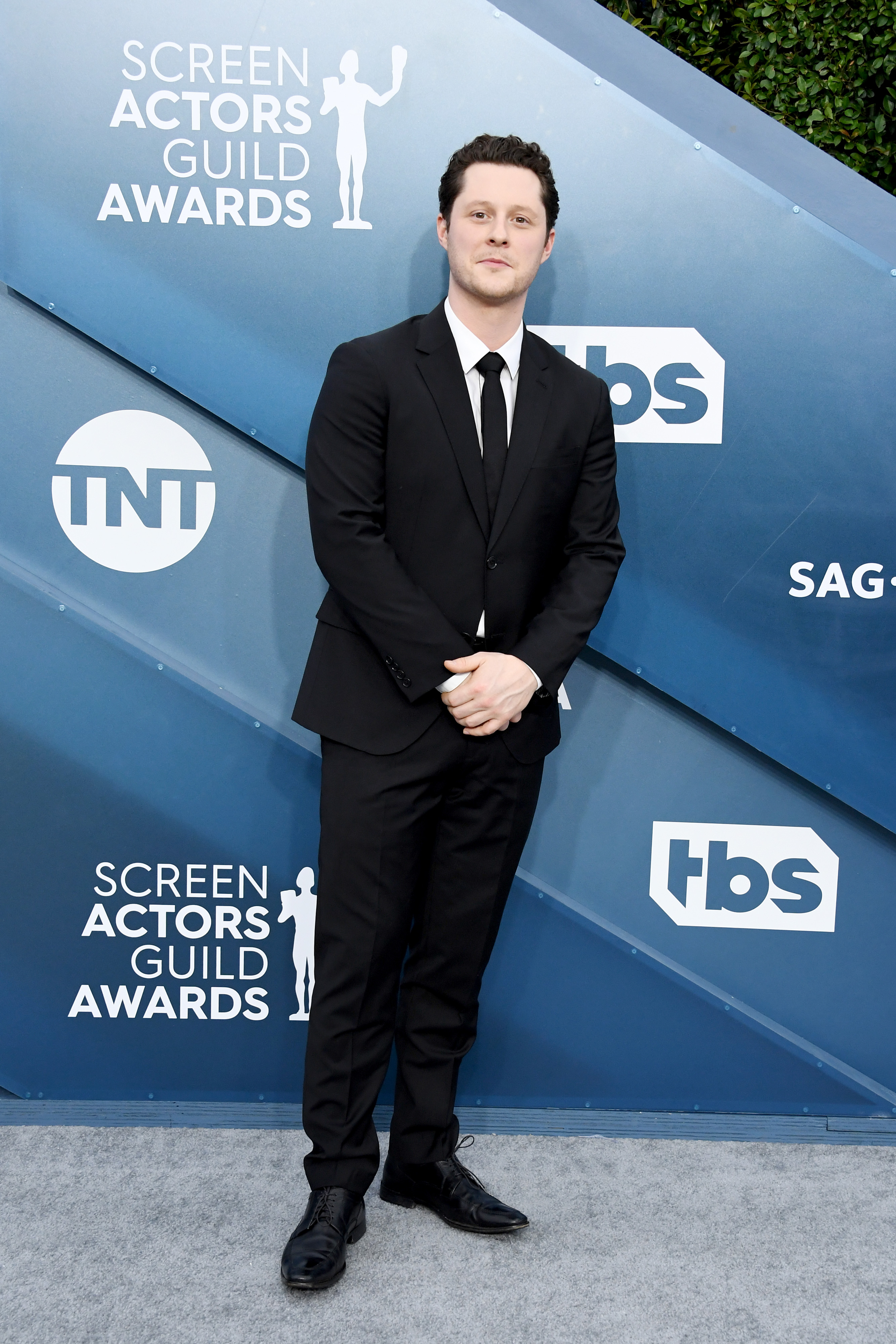 LOS ANGELES, CALIFORNIA - JANUARY 19: Noah Reid attends the 26th Annual Screen ActorsGuild Awards at The Shrine Auditorium on January 19, 2020 in Los Angeles, California. (Photo by Jon Kopaloff/Getty Images)