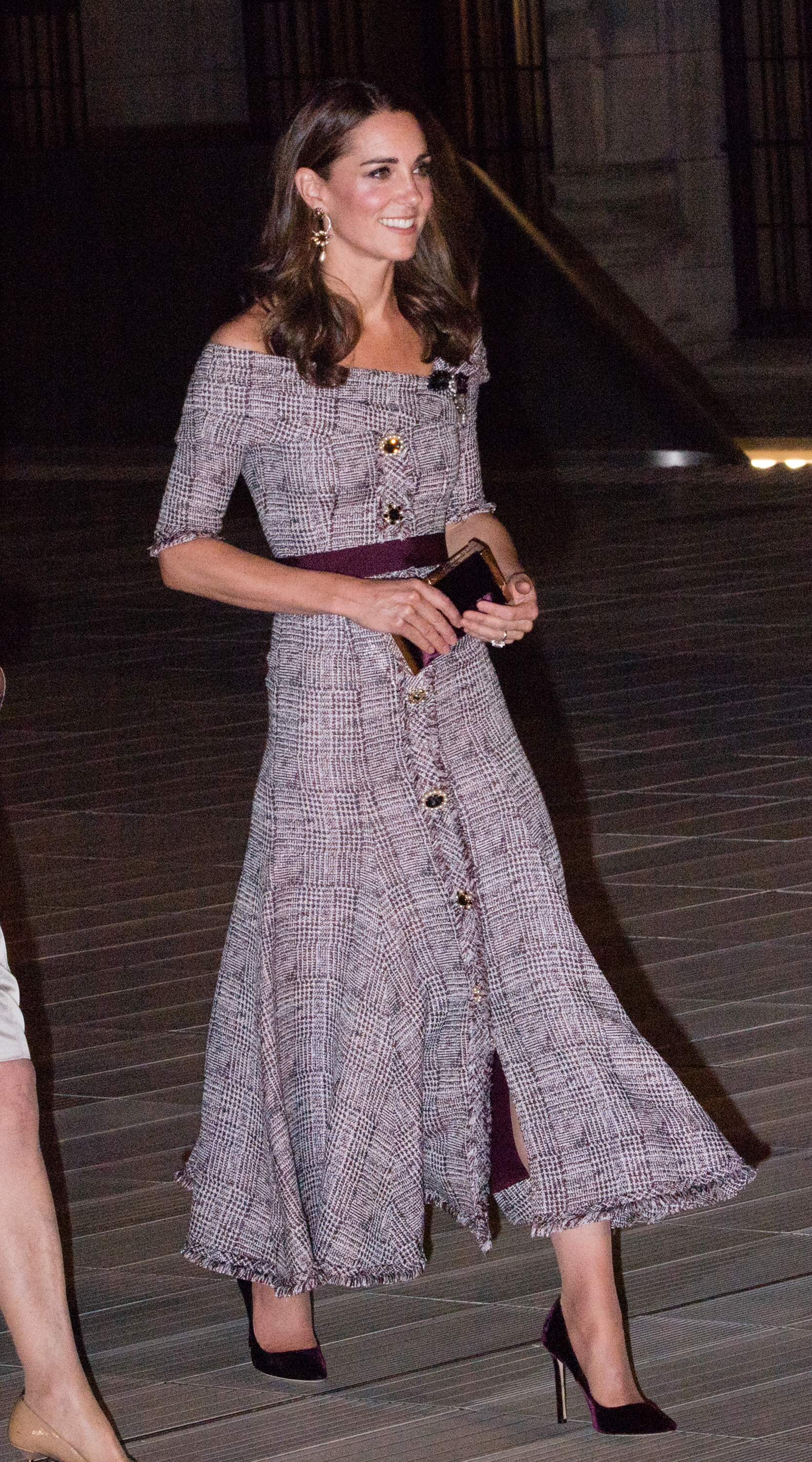 LONDON, ENGLAND - OCTOBER 10:  Catherine, Duchess of Cambridge attends the opening of the V&A Photography Centre at Victoria & Albert Museum on October 10, 2018 in London, England.  The Duchess of Cambridge became the Royal Patron of the V&A in March 2018 and this is her first visit in the role.  (Photo by Samir Hussein/Samir Hussein/WireImage)