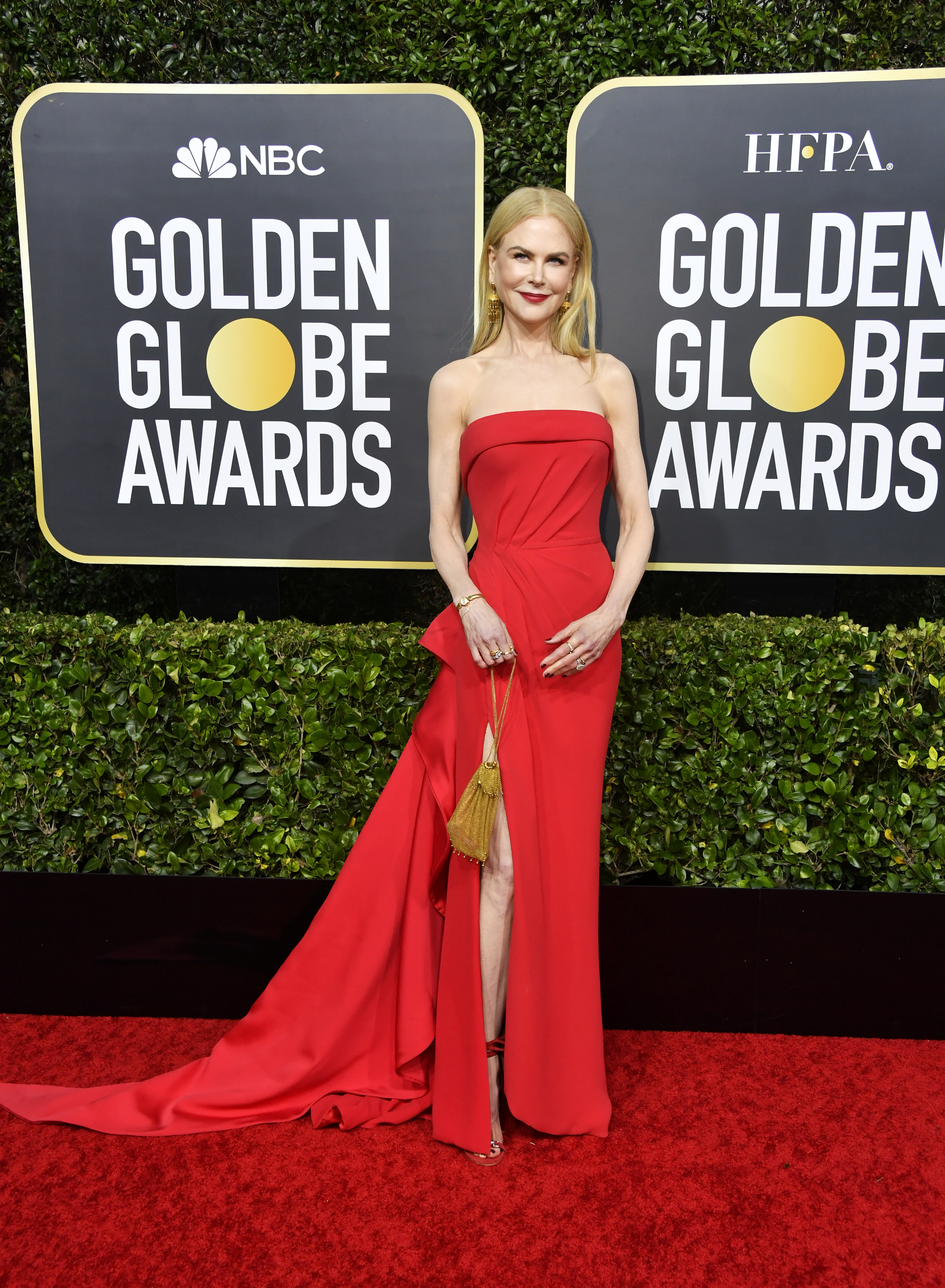 BEVERLY HILLS, CALIFORNIA - JANUARY 05: Nicole Kidman attends the 77th Annual Golden Globe Awards at The Beverly Hilton Hotel on January 05, 2020 in Beverly Hills, California. (Photo by Frazer Harrison/Getty Images)