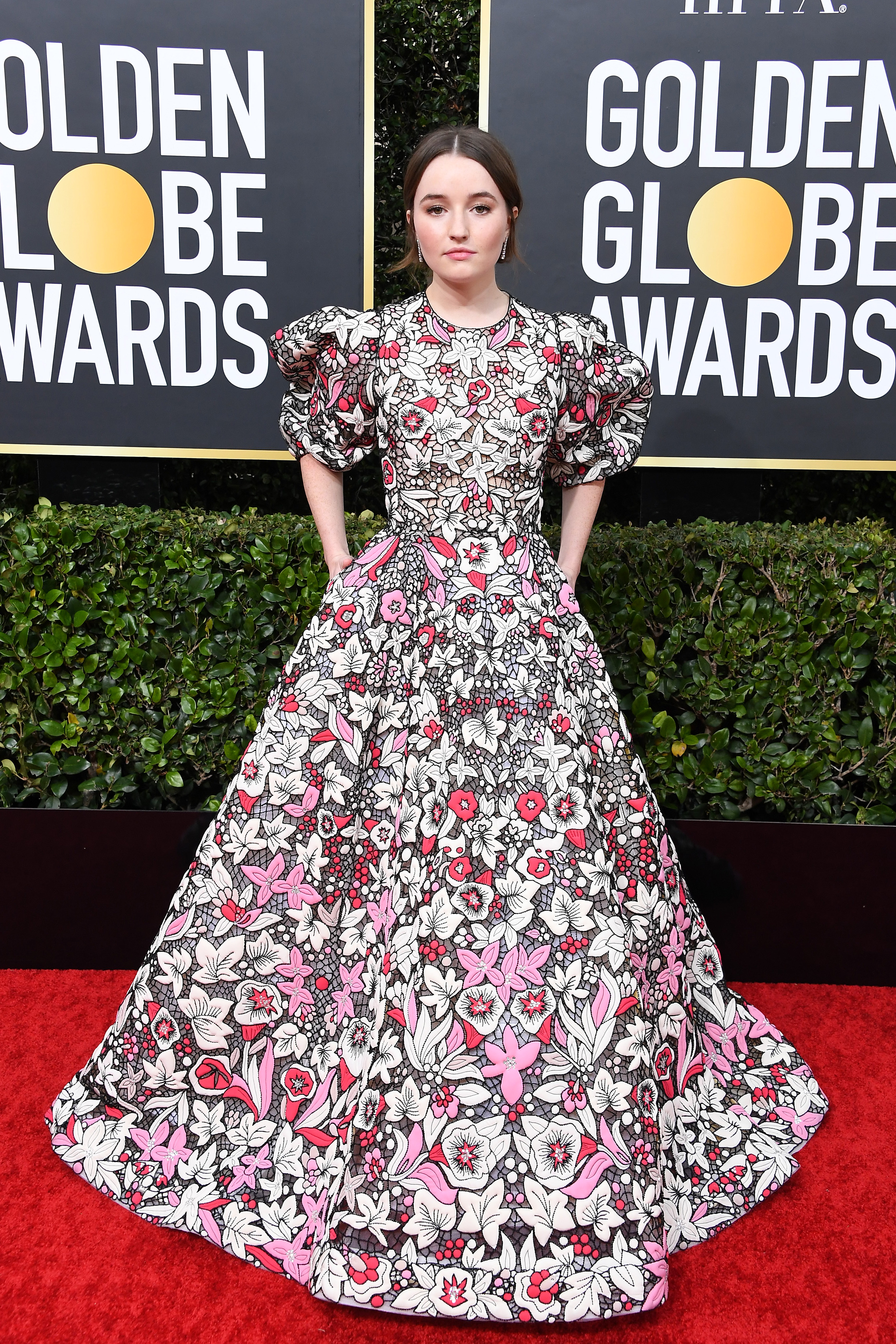 BEVERLY HILLS, CALIFORNIA - JANUARY 05: Kaitlyn Dever attends the 77th Annual Golden Globe Awards at The Beverly Hilton Hotel on January 05, 2020 in Beverly Hills, California. (Photo by Steve Granitz/WireImage)