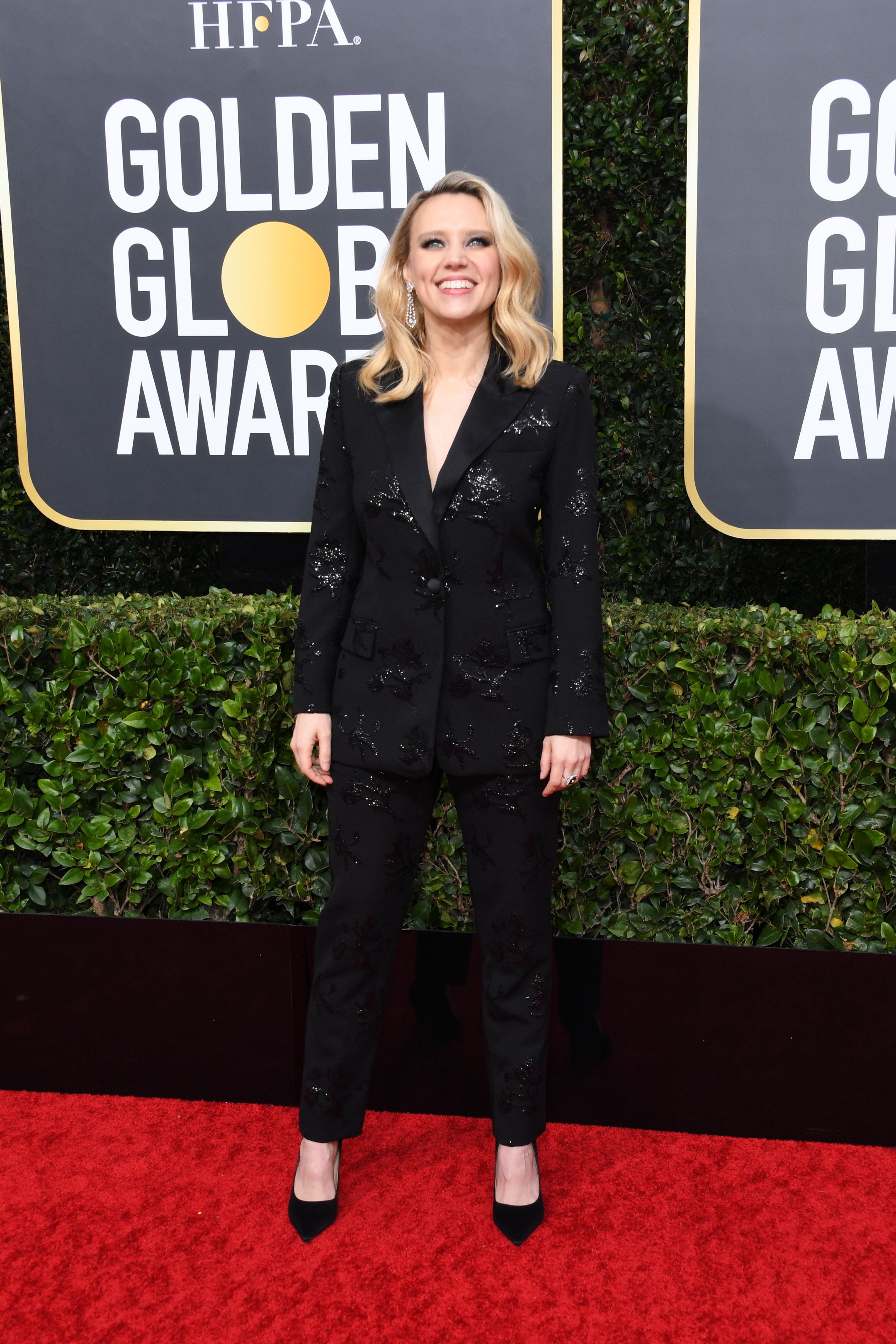 BEVERLY HILLS, CALIFORNIA - JANUARY 05: Kate McKinnon attends the 77th Annual Golden Globe Awards at The Beverly Hilton Hotel on January 05, 2020 in Beverly Hills, California. (Photo by Jon Kopaloff/Getty Images)