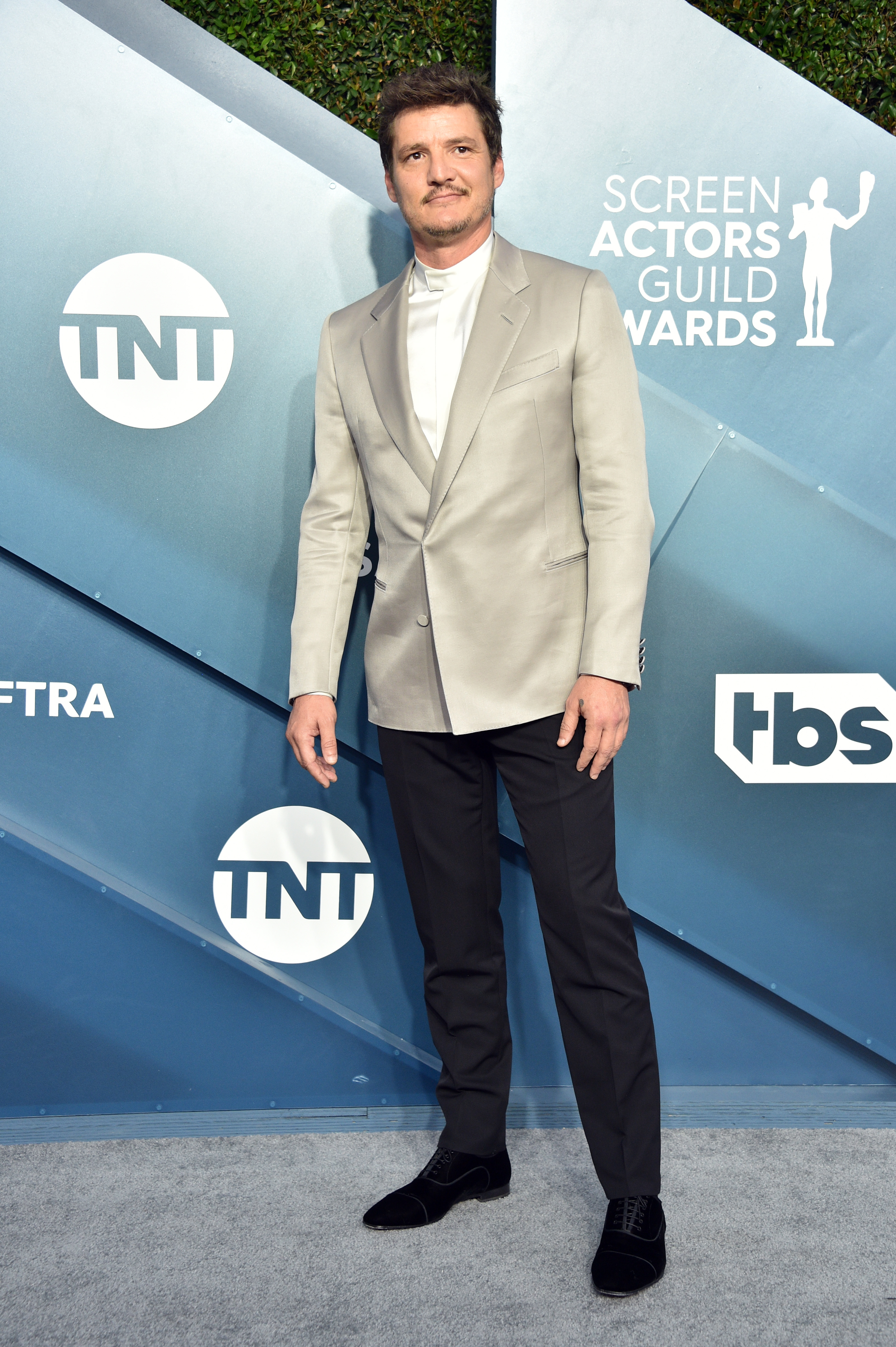 LOS ANGELES, CALIFORNIA - JANUARY 19: Pedro Pascal attends the 26th Annual Screen ActorsGuild Awards at The Shrine Auditorium on January 19, 2020 in Los Angeles, California. 721430 (Photo by Gregg DeGuire/Getty Images for Turner)