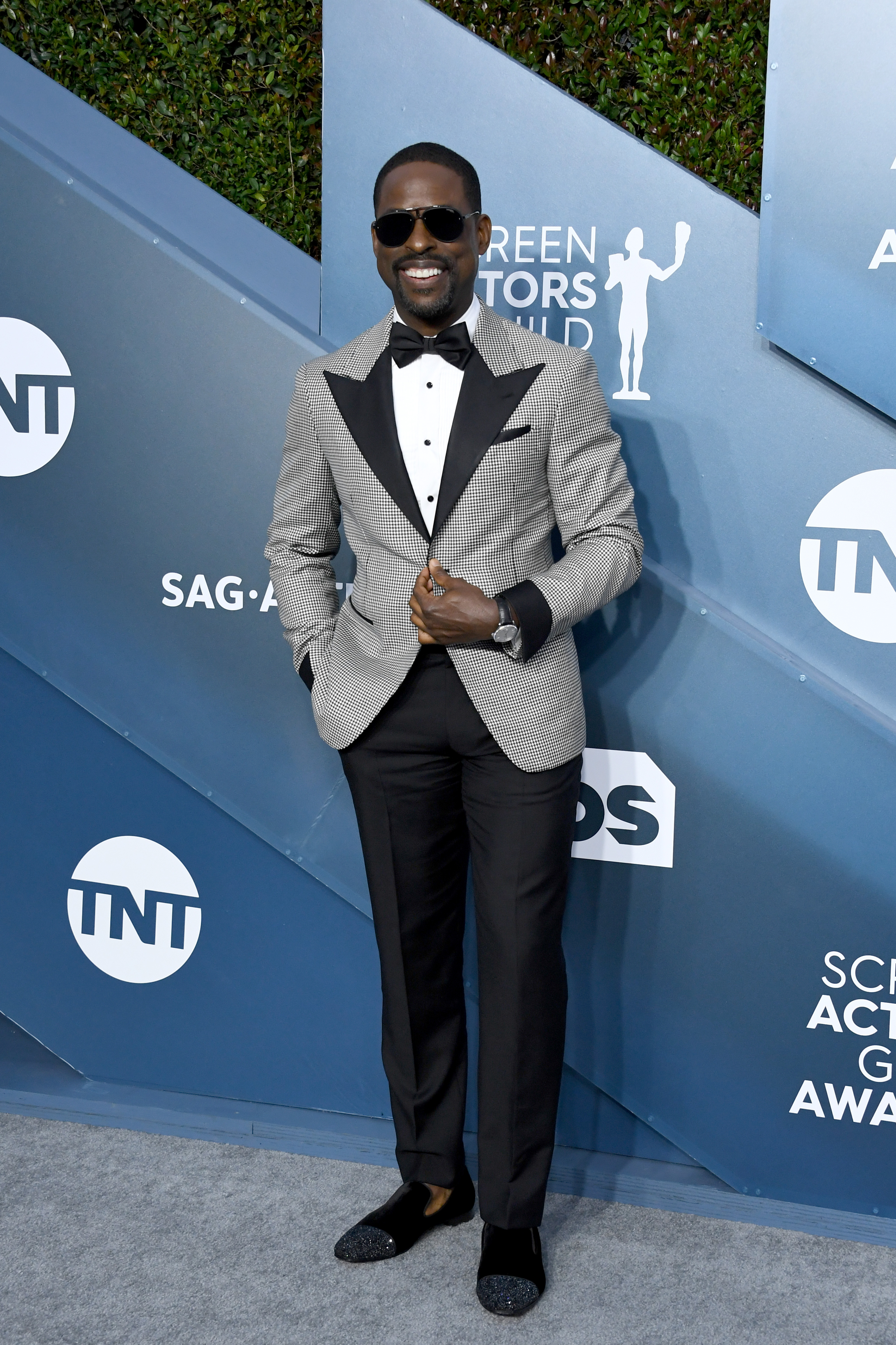 LOS ANGELES, CALIFORNIA - JANUARY 19: Sterling K. Brown attends the 26th Annual Screen ActorsGuild Awards at The Shrine Auditorium on January 19, 2020 in Los Angeles, California. (Photo by Jon Kopaloff/Getty Images)