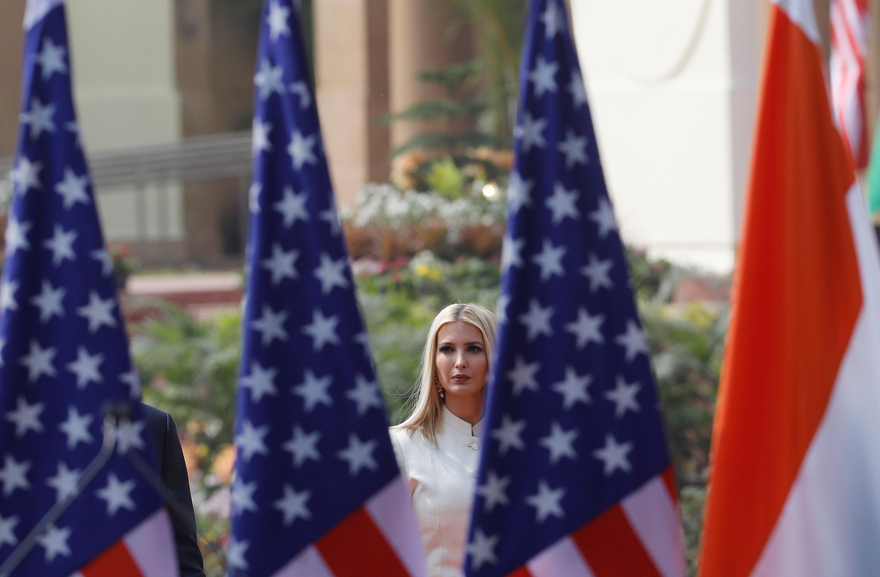 La hija del presidente de EEUU, Ivanka Trump