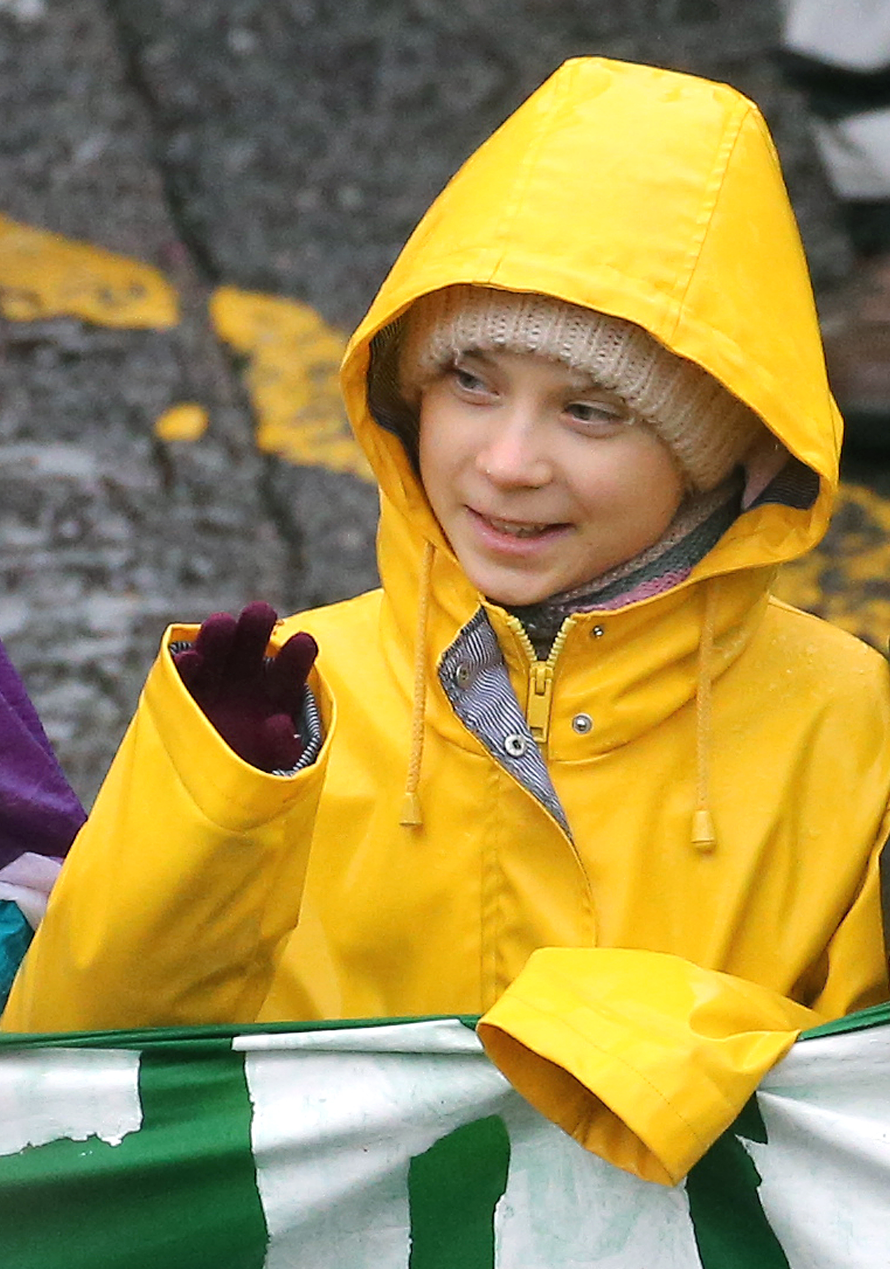 Environmental activist Greta Thunberg during a Bristol Youth Strike 4 Climate protest in Bristol. Picture date: Friday February 28, 2020. Photo credit should read: EMPICS/EMPICS Entertainment