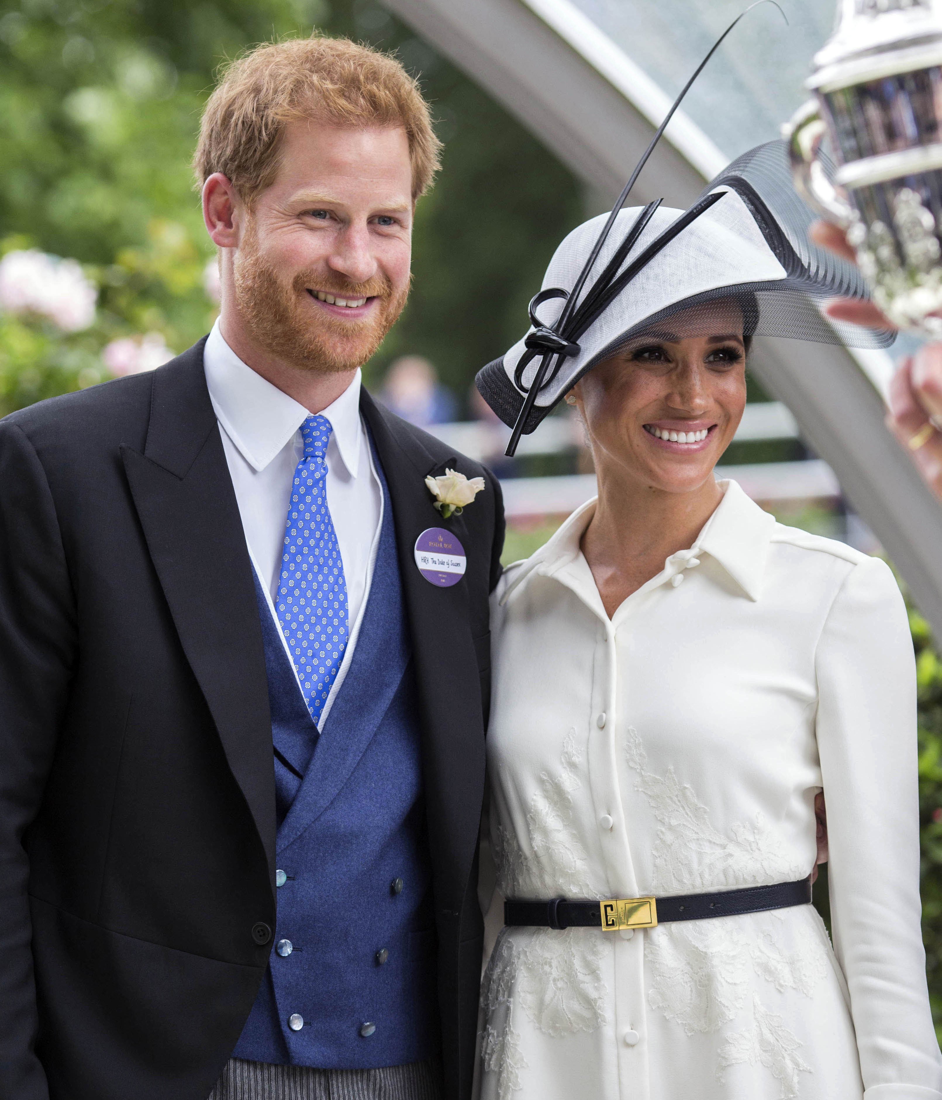 """February 20th 2020 - Prince Harry and Duchess Meghan will formally step down as senior royals on March 31st 2020 as the agreement reached between Queen Elizabeth II and the couple becomes official. - January 20th 2020 - Buckingham Palace has announced that Prince Harry and Duchess Meghan will no longer use """"royal highness"""" titles and will not receive public money for their royal duties. Additionally, as part of the terms of surrendering their royal responsibilities, Harry and Meghan will repay the $3.1 million cost of taxpayers' money that was spent renovating Frogmore Cottage - their home near Windsor Castle. - January 9th 2020 - Prince Harry The Duke of Sussex and Duchess Meghan of Sussex intend to step back their duties and responsibilities as senior members of the British Royal Family. - File Photo by: zz/KGC-107/STAR MAX/IPx 2018 6/19/18 Prince Harry The Duke of Sussex and Meghan The Duchess of Sussex at Royal Ascot Day One at Ascot Racecourse. (Berkshire, England, UK)"""