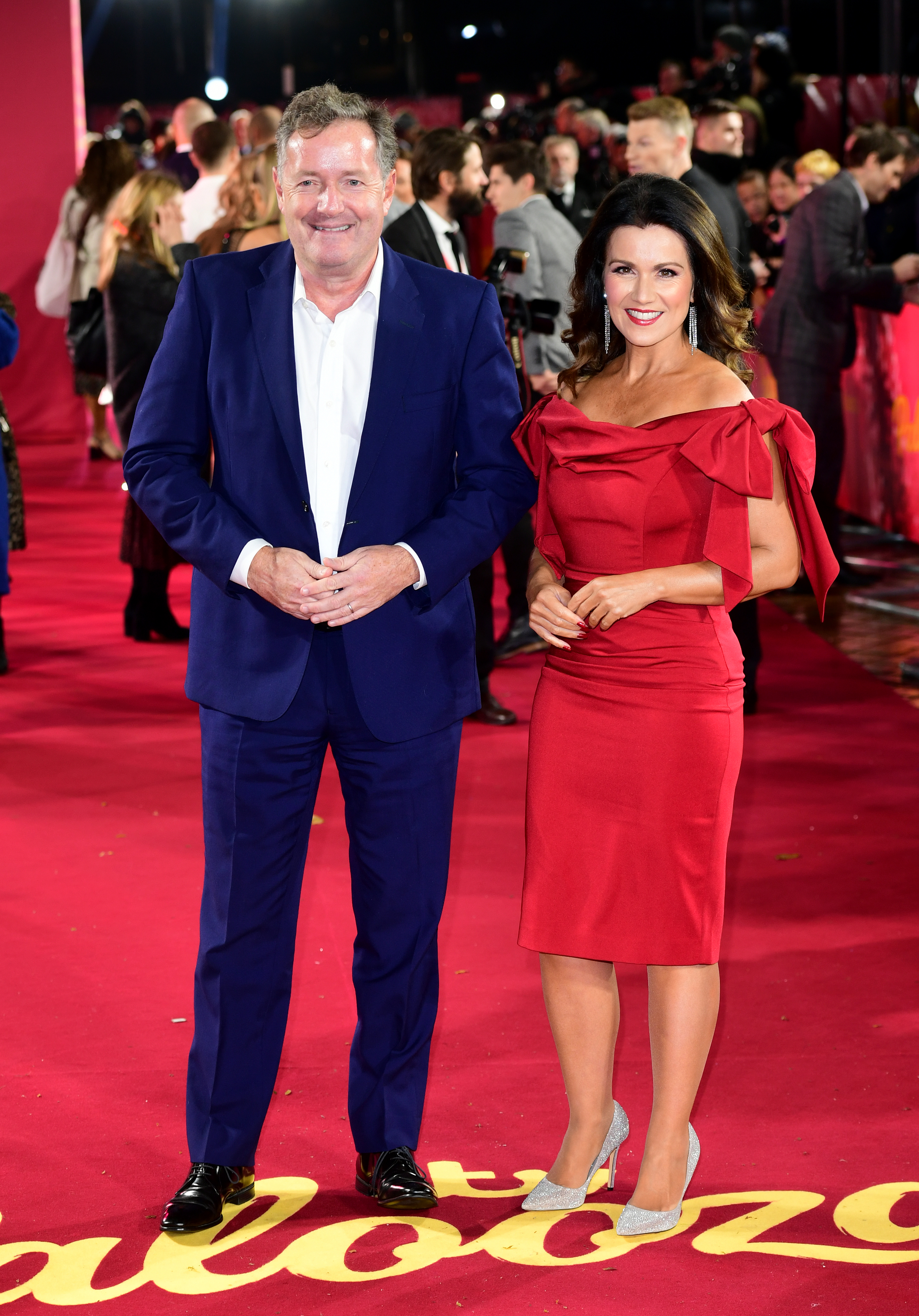 Piers Morgan and Susanna Reid arriving for the ITV Palooza held at the Royal Festival Hall, Southbank Centre, London.