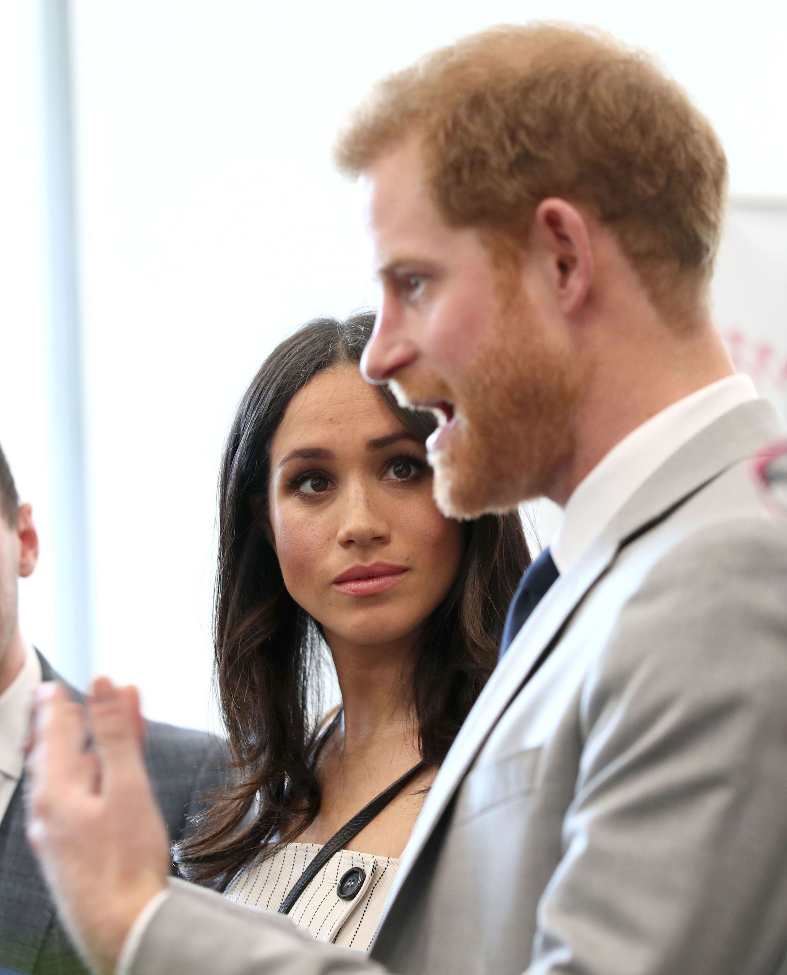 REVIEW OF THE DECADE - ROYAL File photo dated 18/04/18 of Meghan Markle looking at Prince Harry during a reception for delegates from the Commonwealth Youth Forum at the Queen Elizabeth II Conference Centre, London.