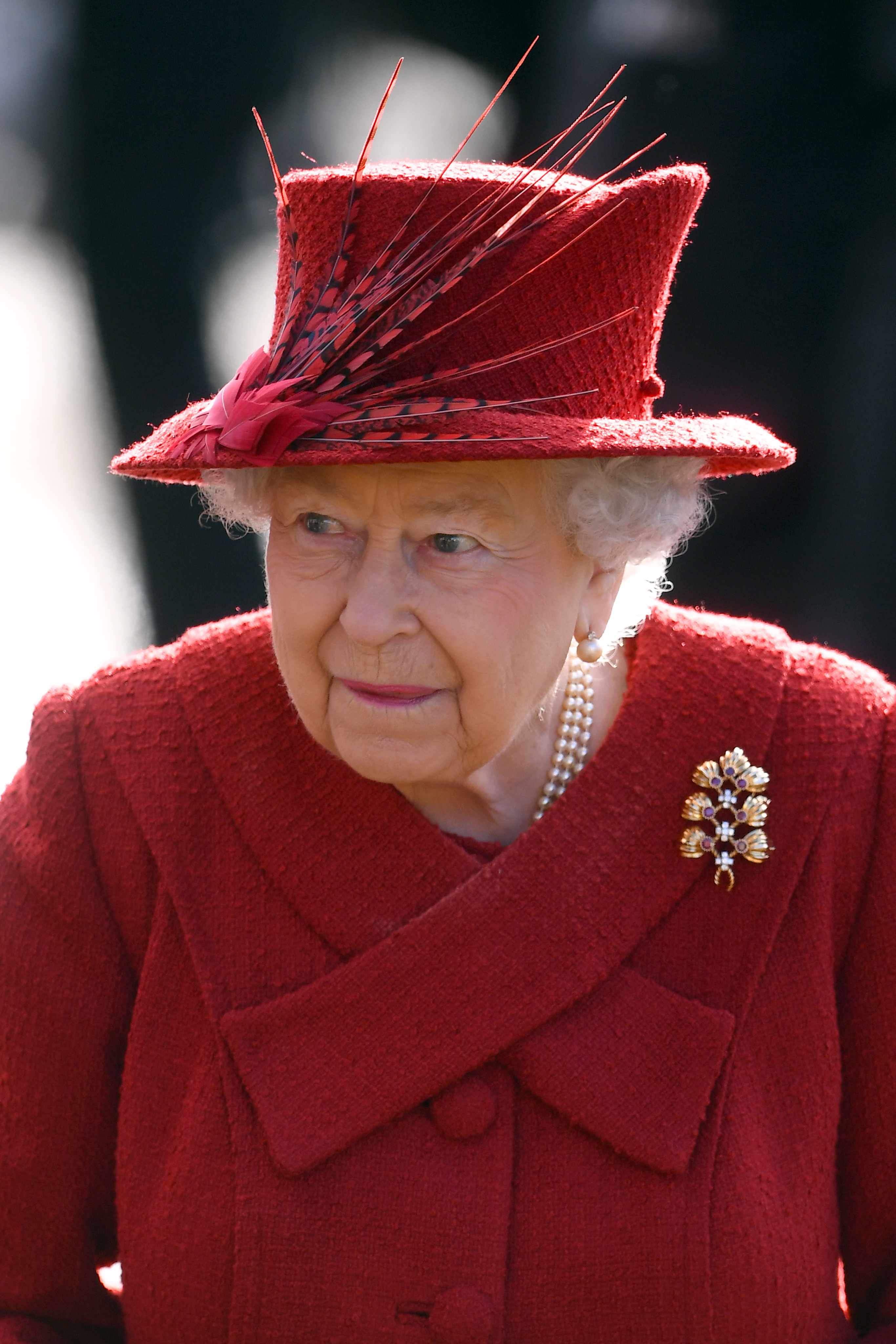 File photo dated 04/02/18 of Queen Elizabeth II. The Queen will host crisis talks with senior royals and the Duke of Sussex on Monday in a bid to find a solution to Meghan and Harry's future roles.