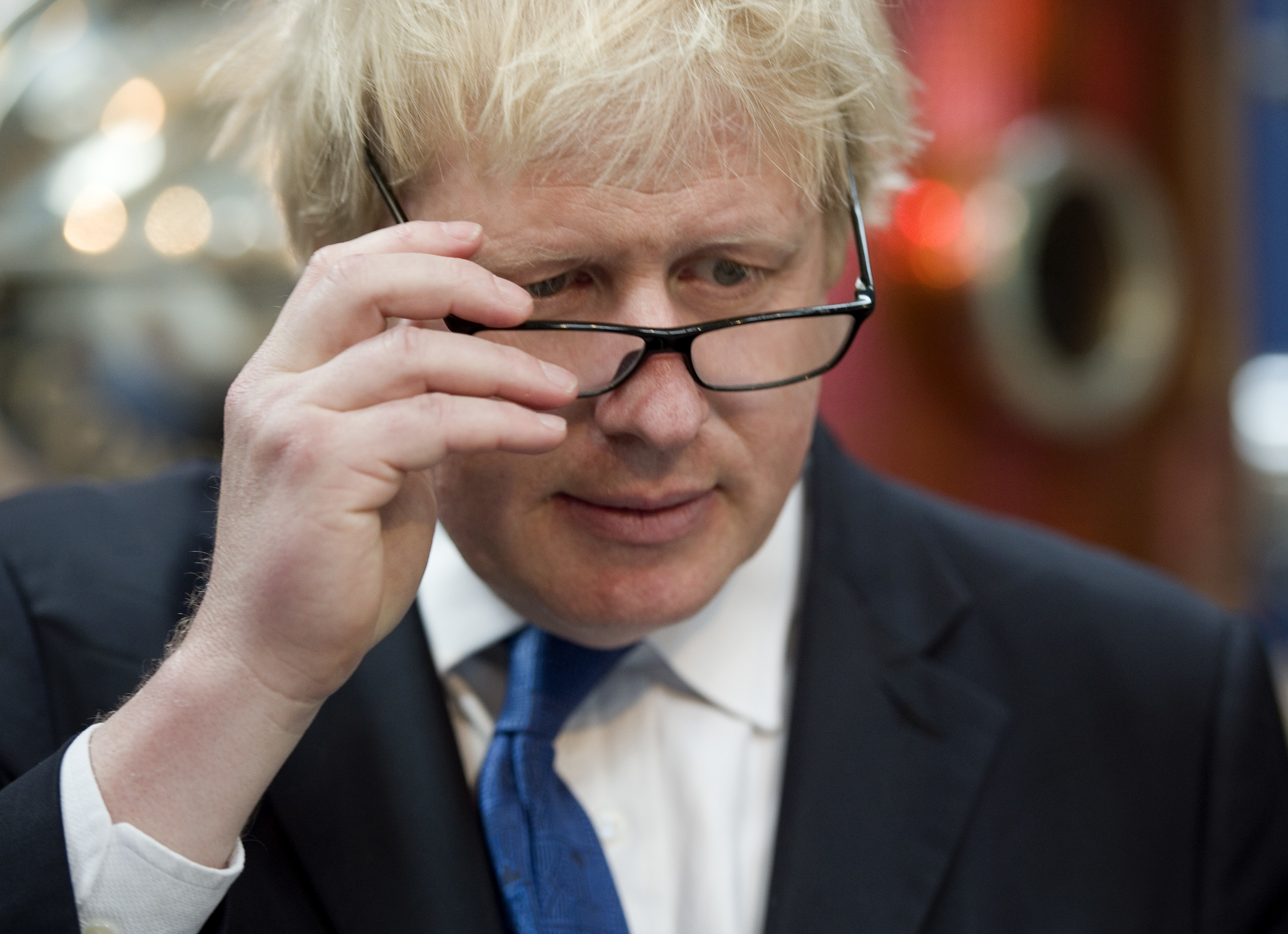 Mayor of London Boris Johnson visits Sipsmith's Gin distillery in Chiswick, London, the first copper distillery in the capital for 200 years. PRESS ASSOCIATION Photo. Picture date: Friday April 17, 2015. Mr Johnson has not ruled out becoming a minister in the first year of a Tory government but said David Cameron would not be in favour of such a move. Mr Johnson insisted he could not see how a ministerial position would be compatible with his job as Mayor of London, which will end in May 2016. After that the road would be clear for Mr Johnson to be promoted to government if the Tories form it and he becomes MP for Uxbridge and South Ruislip. But Mr Johnson stressed that his current mayoral position was like running a big budget government department already. See PA story ELECTION Boris. Photo credit should read: Anthony Devlin/PA Wire