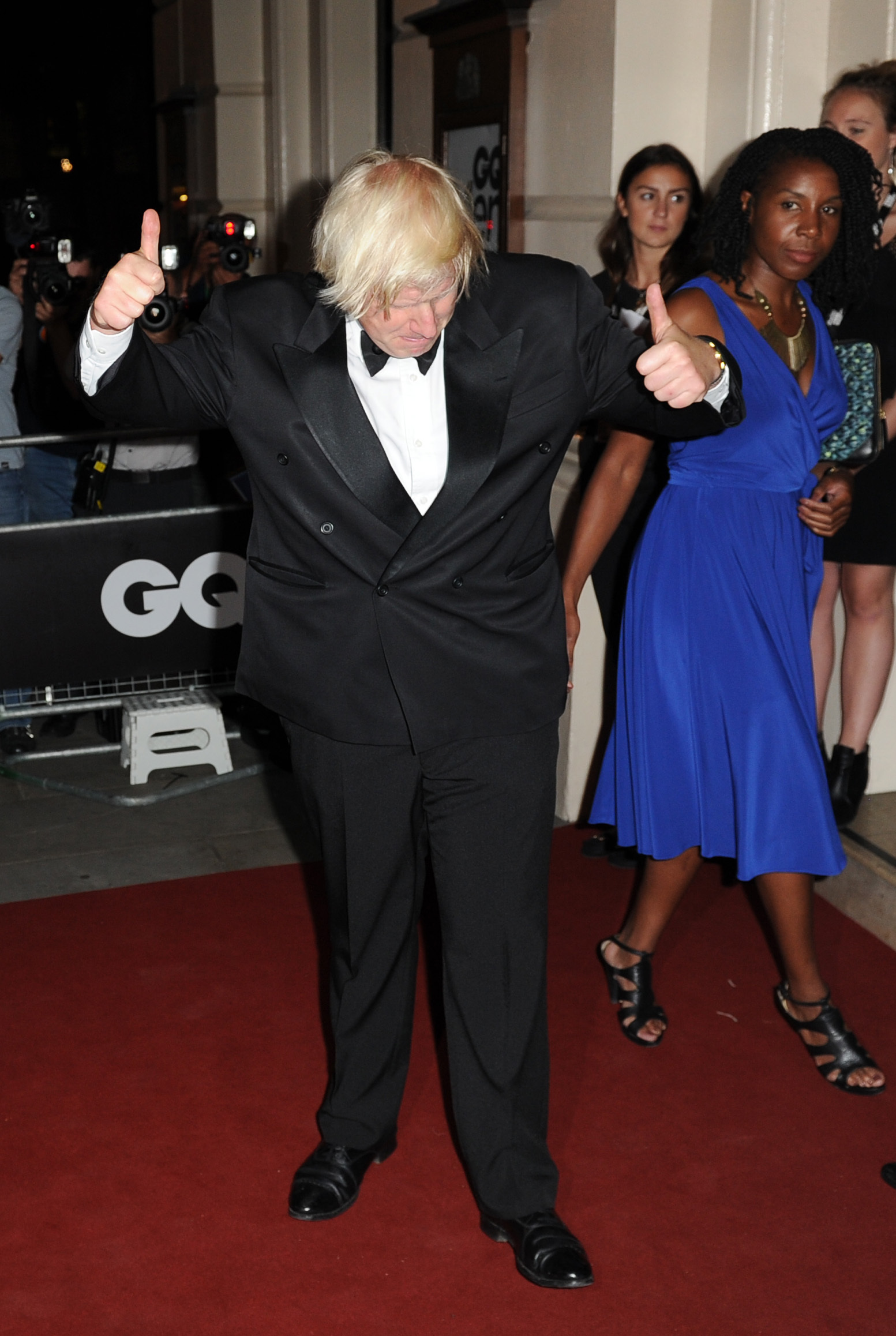 Boris Johnson attends the GQ Men of the Year Awards in association with Hugo Boss at the Royal Opera House, London.