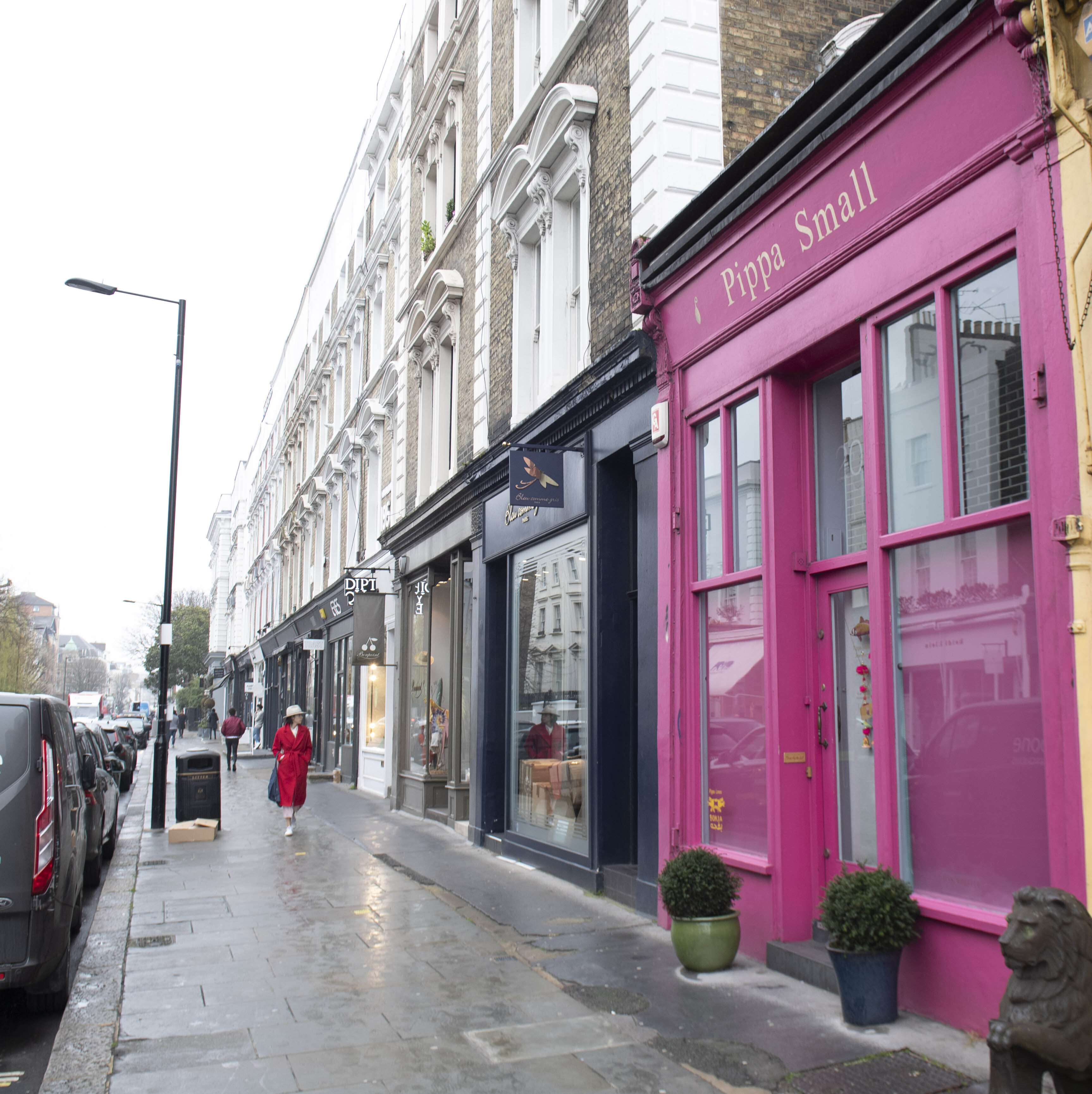 Photo by: KGC-520/STAR MAX/IPx 2020 3/19/20 Fashion Retailers are closing down and emptying their shelves on Westbourne Grove in Notting Hill including Gwyneth Paltrow's pop up clothes shop Goop as Coronavirus fears spread in London.