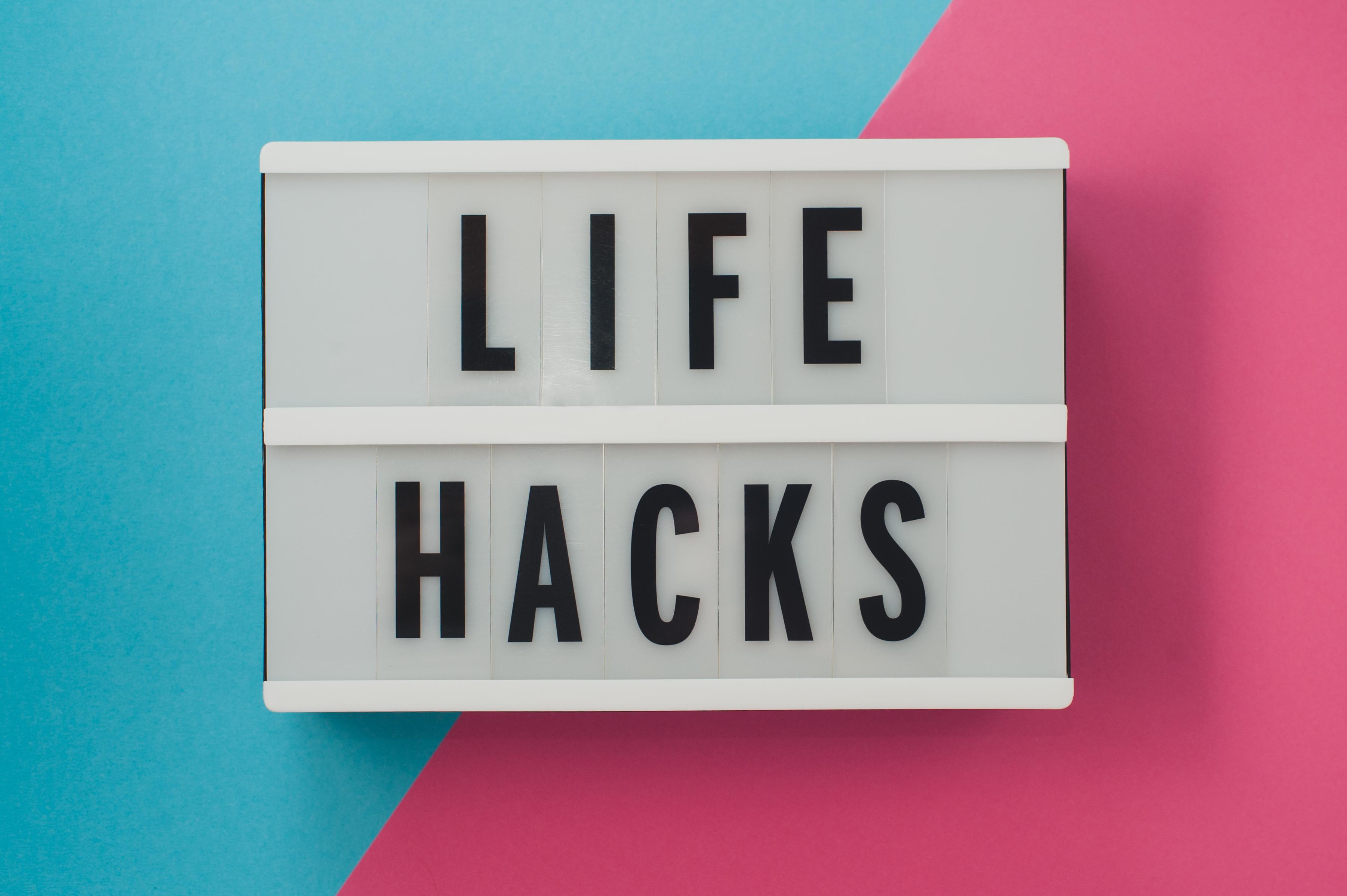 Symbolbild Life Hacks