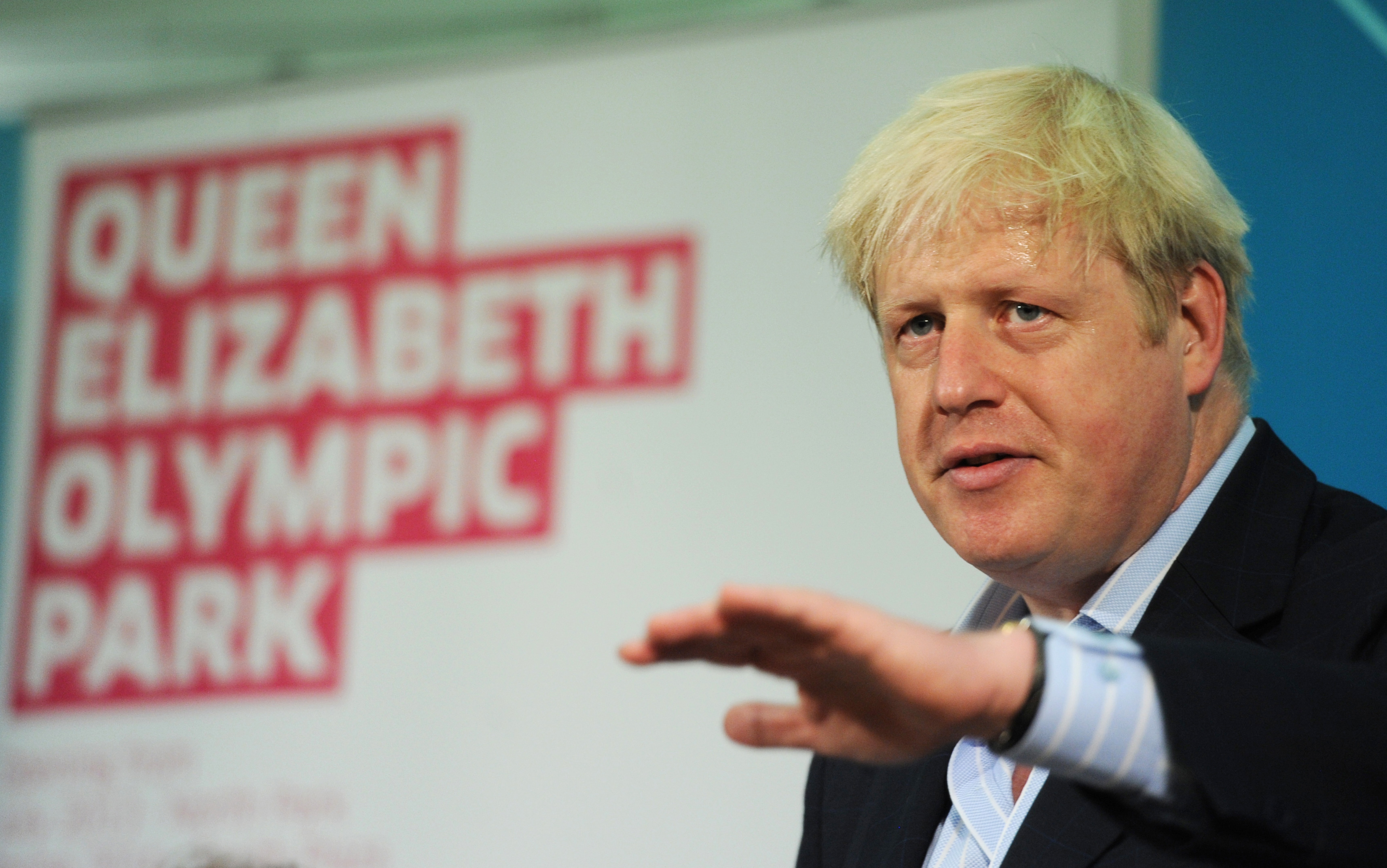 Mayor of London Boris Johnson holds a press conference in Westminster, London, to discuss the legacy of the London 2012 Olympics.