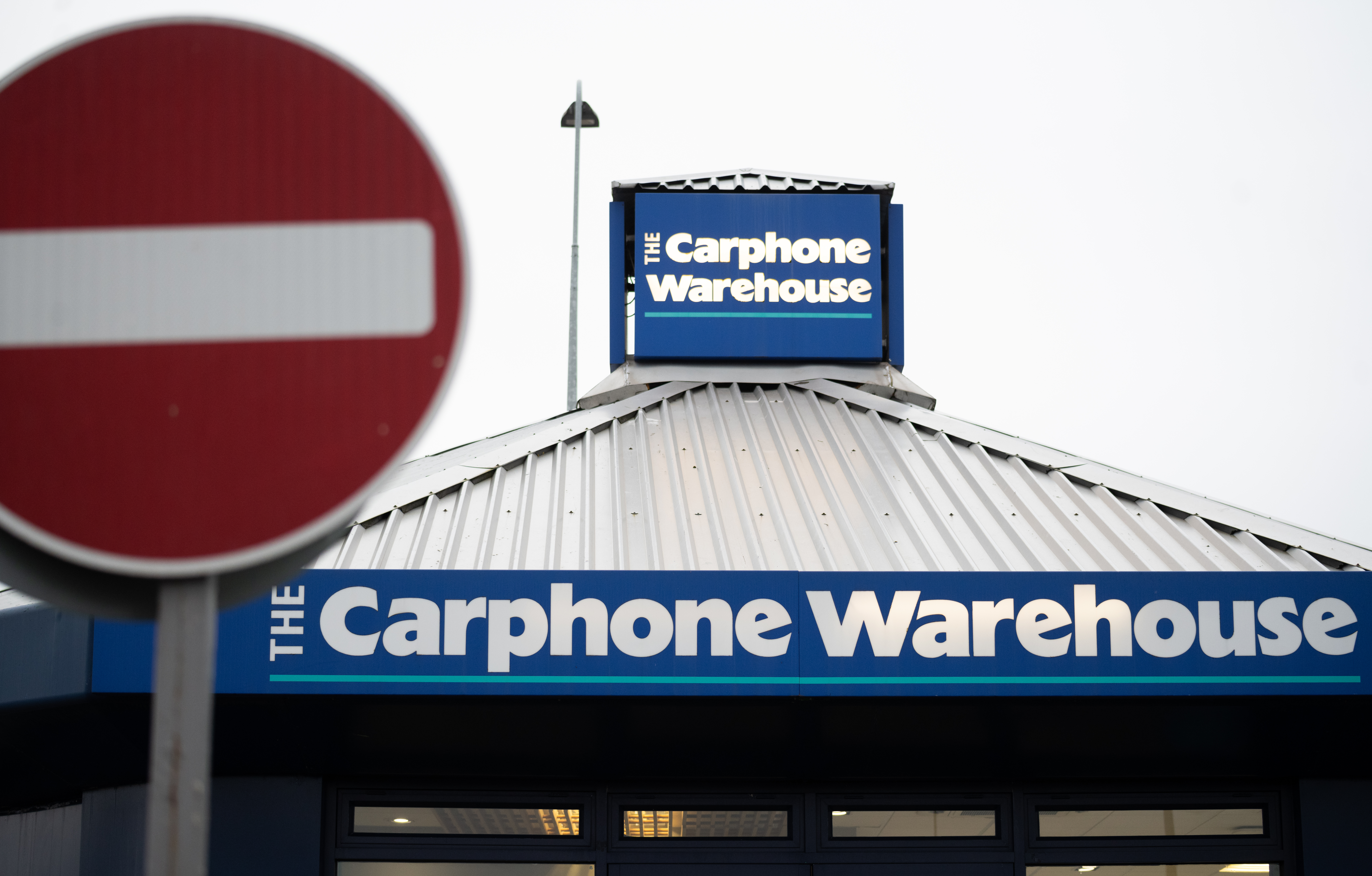 CARDIFF, UNITED KINGDOM - MARCH 17: A general view of  a Carphone Warehouse store on March 17, 2020 in Cardiff, Wales. The phone retailer has announced the closure of all its standalone stores today with the loss of 2800 jobs. (Photo by Matthew Horwood/Getty images)