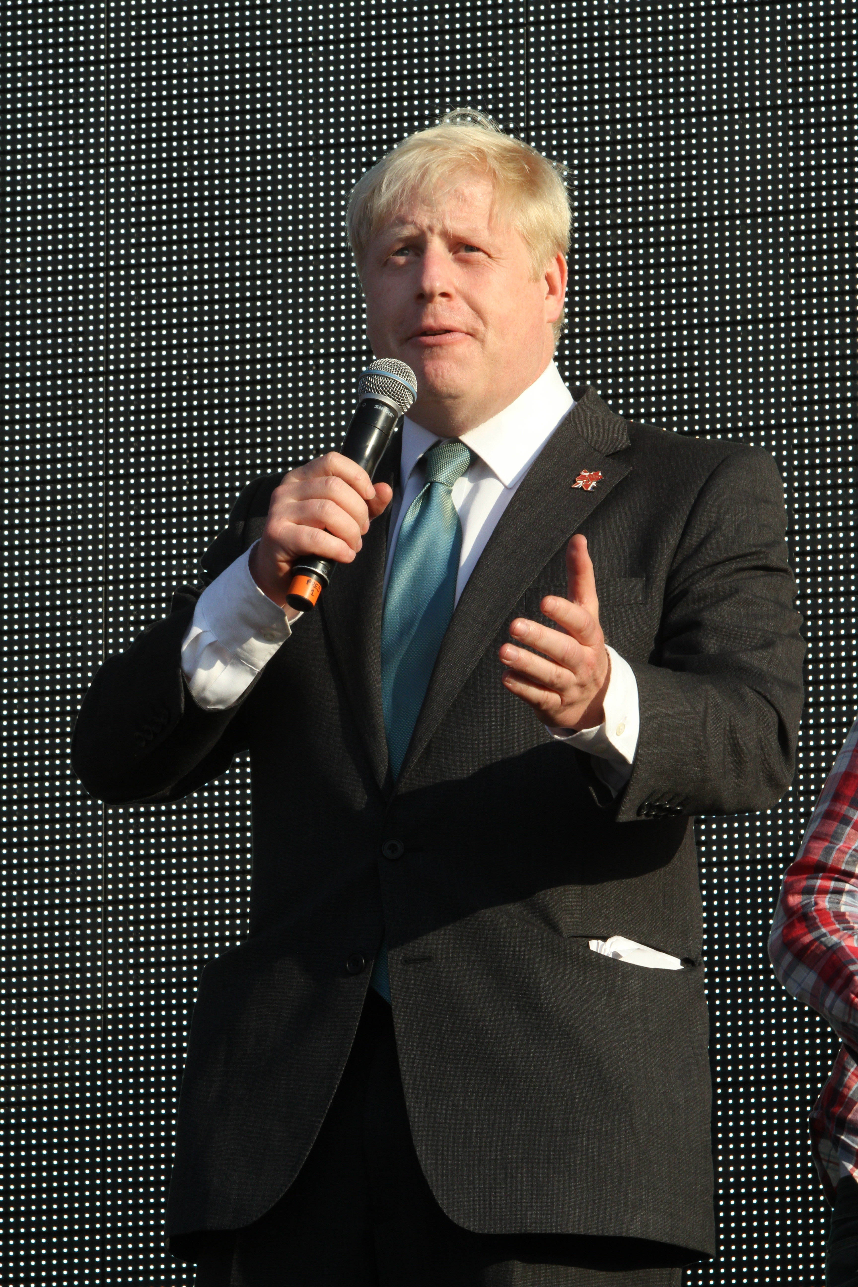 (EDITOR�S NOTE: Image Archived 26/07/2012) Boris Johnson at the Coca Cola Olympic Torch Relay Finale - the final torchbearer arrives to light the cauldron - at Hyde Park, London. Prime Minister Boris Johnson MP has tested positive for coronavirus, Downing Street has announced that Mr Johnson has mild symptoms and will self-isolate in Downing Street. He will still be in charge of the government's handling of the crisis, the statement added. (Photo by Keith Mayhew / SOPA Images/Sipa USA)