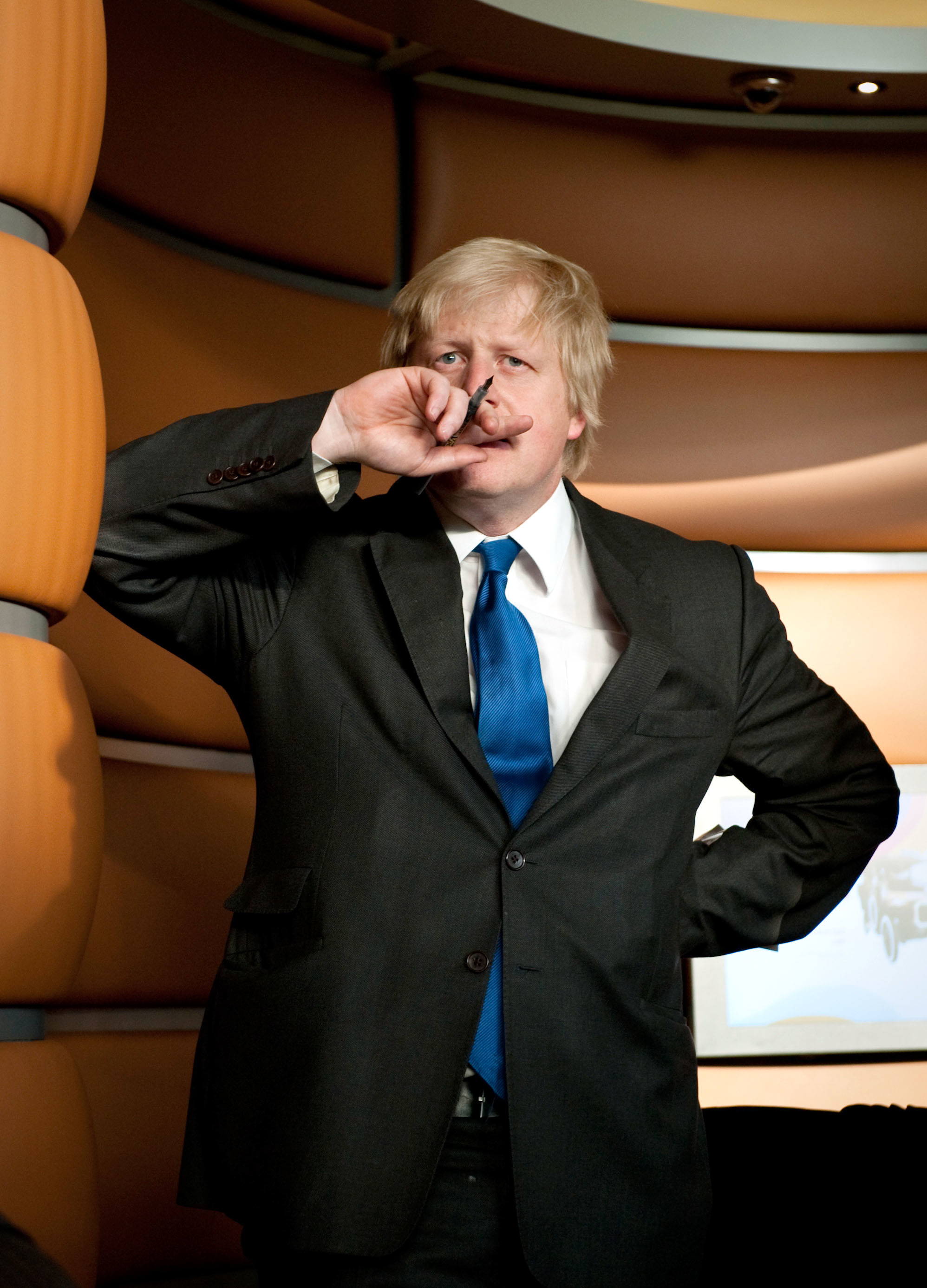 Boris Johnson attends the �20 Million Opening of the Galleries of Modern London at the Museum of London, London, 27th May 2010.