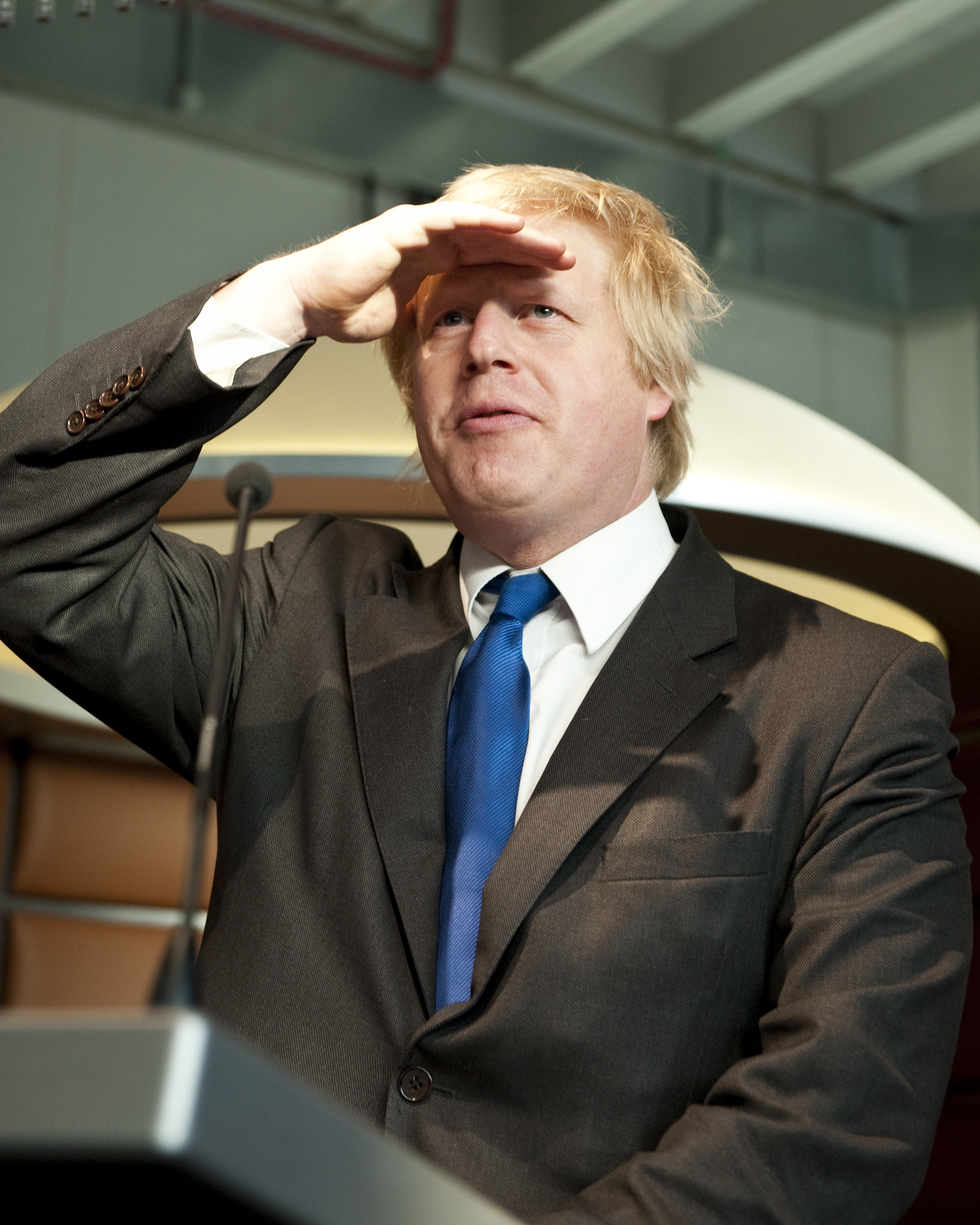 Boris Johnson speaks at the �20 Million Opening of the Galleries of Modern London at the Museum of London, London, 27th May 2010.