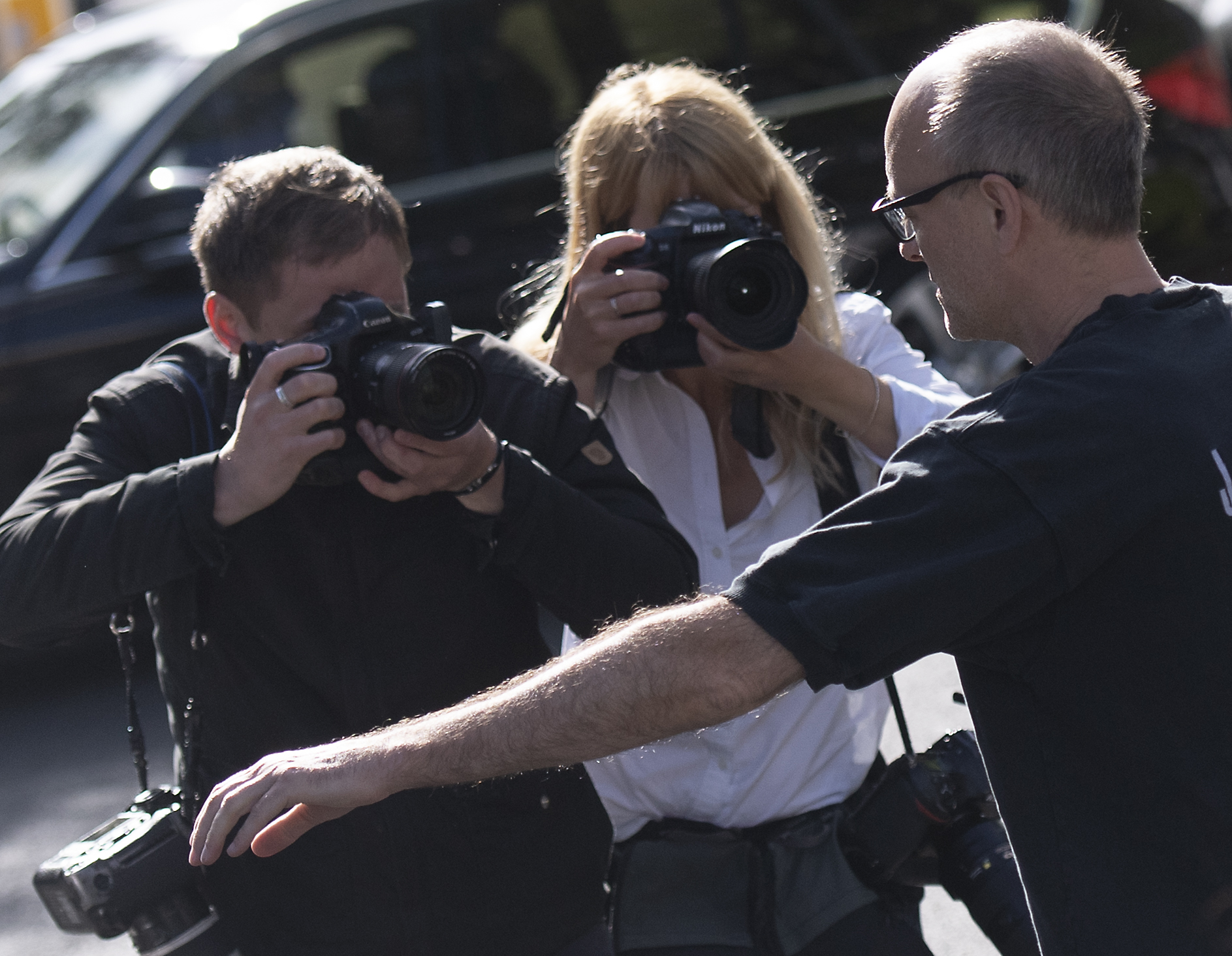Number 10 special advisor Dominic Cummings leaves his residence in north London on May 28, 2020. (Photo by Justin TALLIS / AFP) (Photo by JUSTIN TALLIS/AFP via Getty Images)
