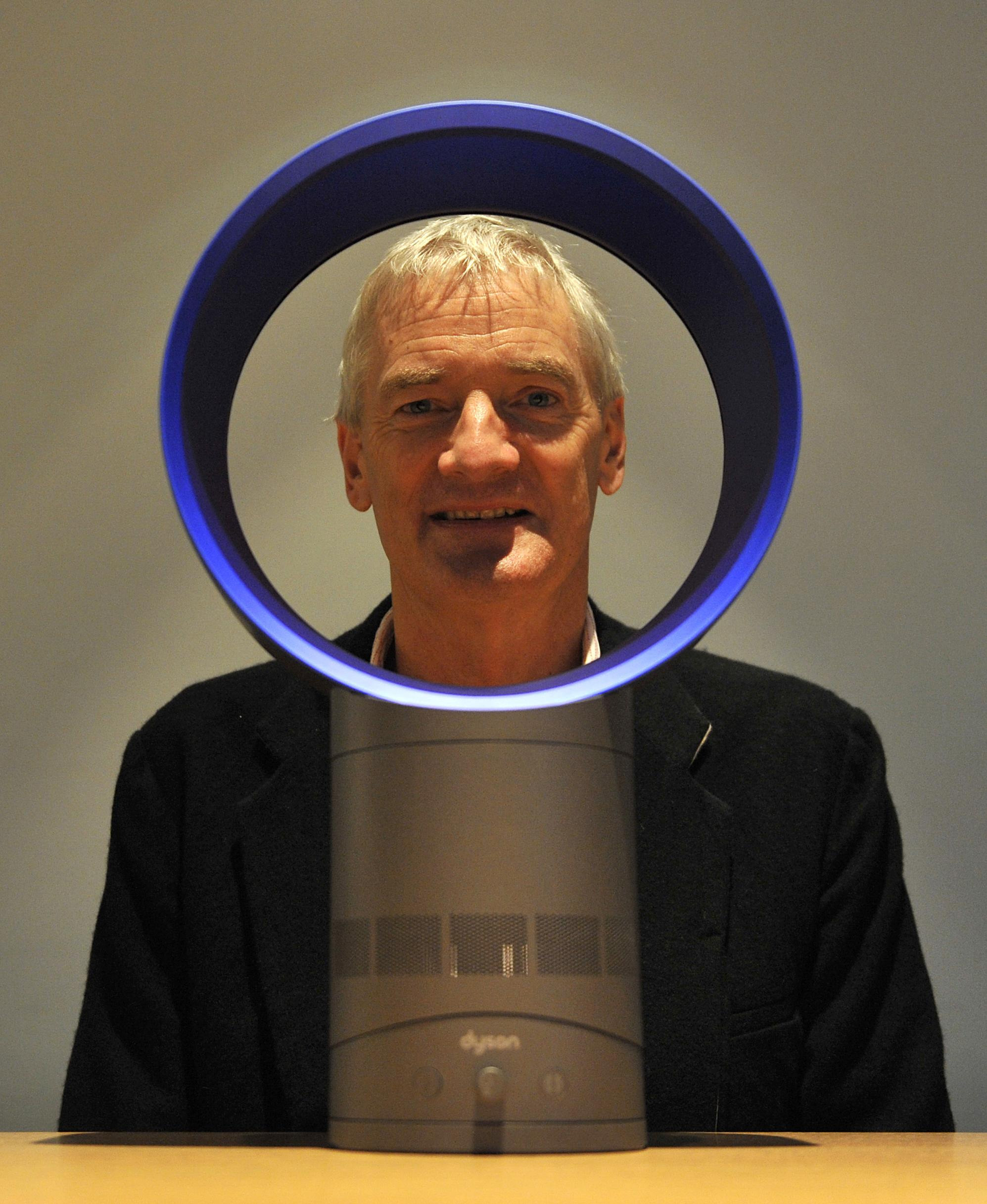 Inventor James Dyson today launched a bladeless fan which he hopes will be a healthy and environmentally-friendly alternative to air conditioning.