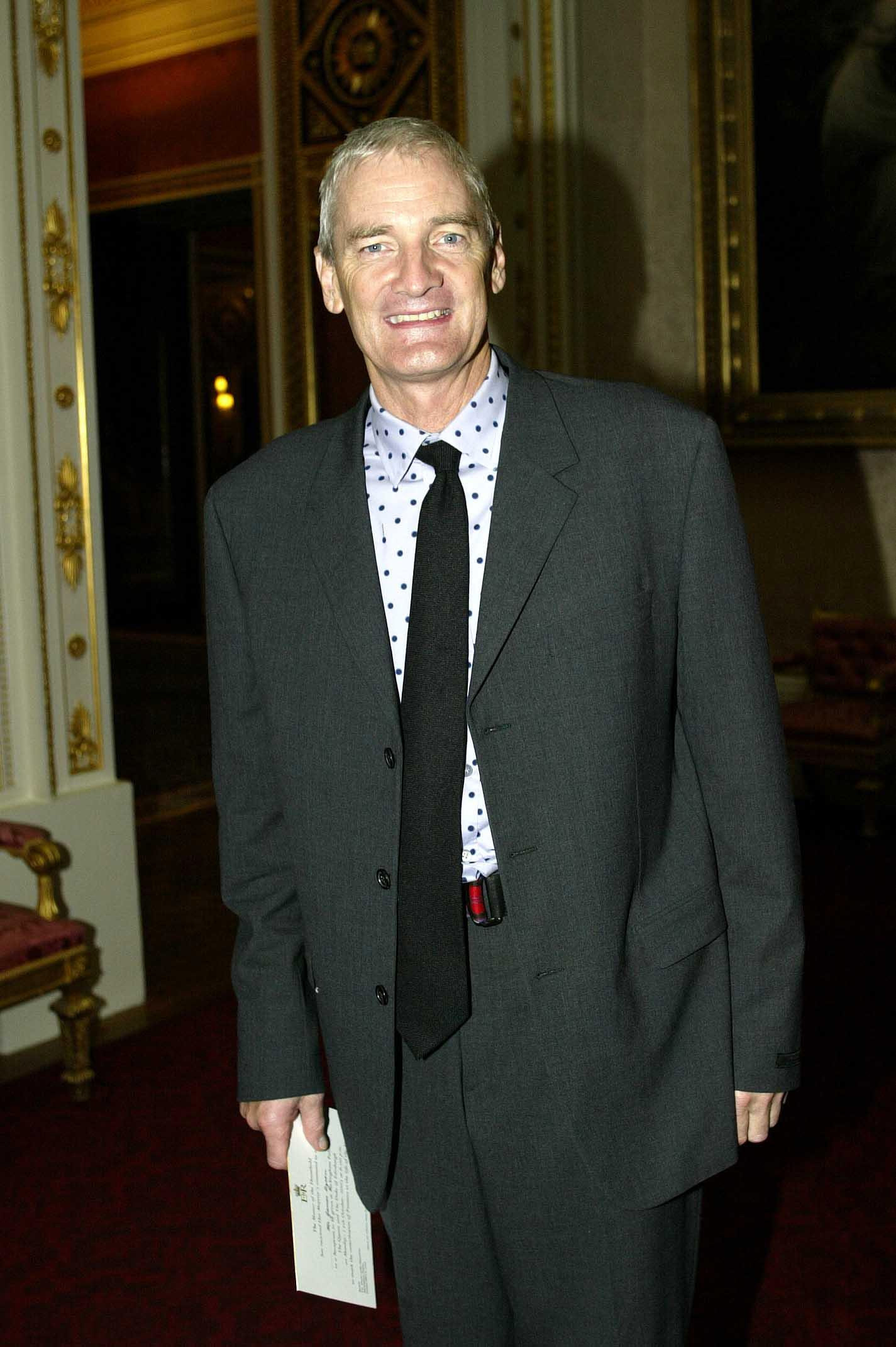 Inventor James Dyson arrives at a reception hosted by Queen Elizabeth II and the Duke of Edinburgh at Buckingham, London, which aims to pay tribute to more than 400 pioneers of British Life.