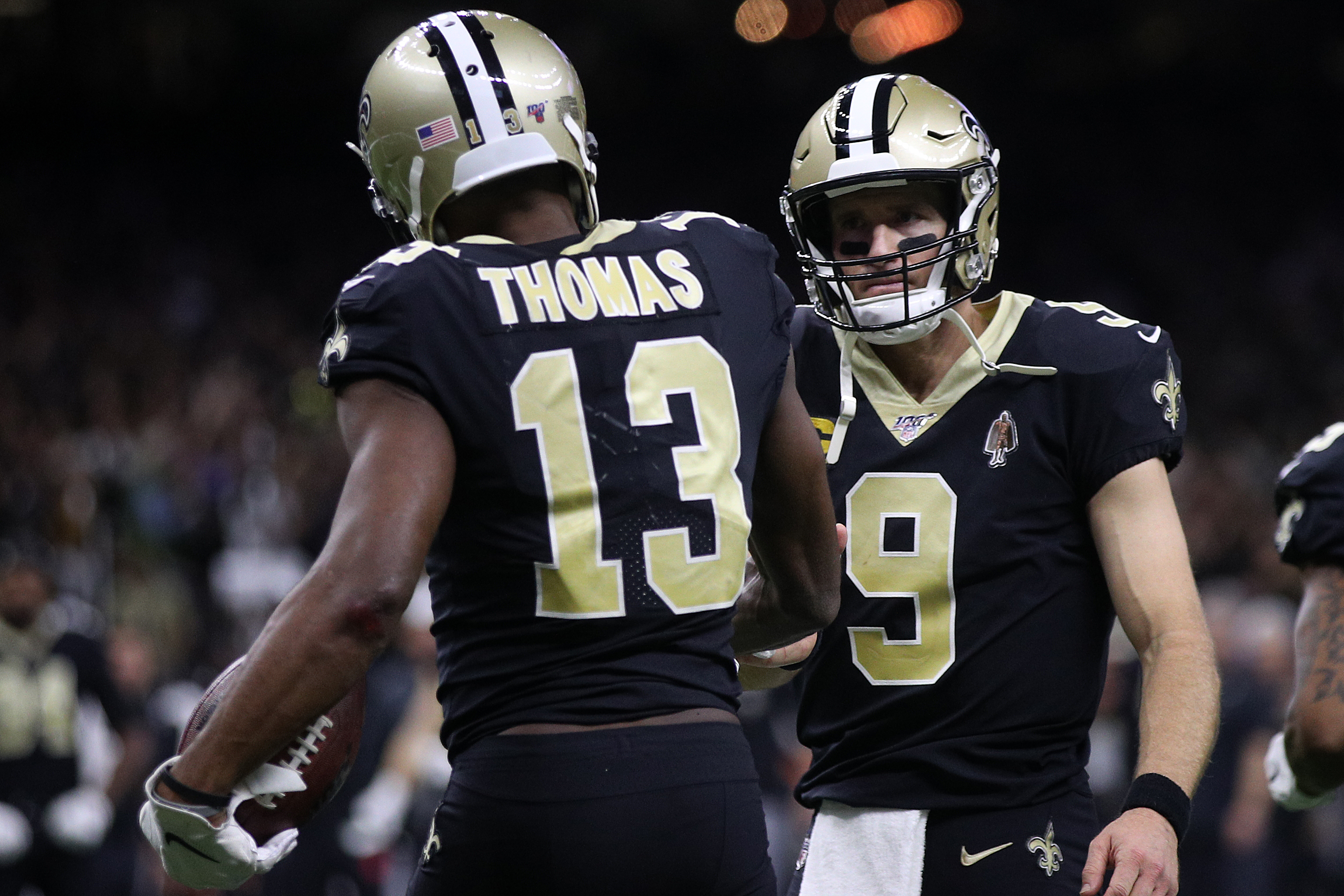 Nfl Michael Thomas Accepts Drew Brees Apology