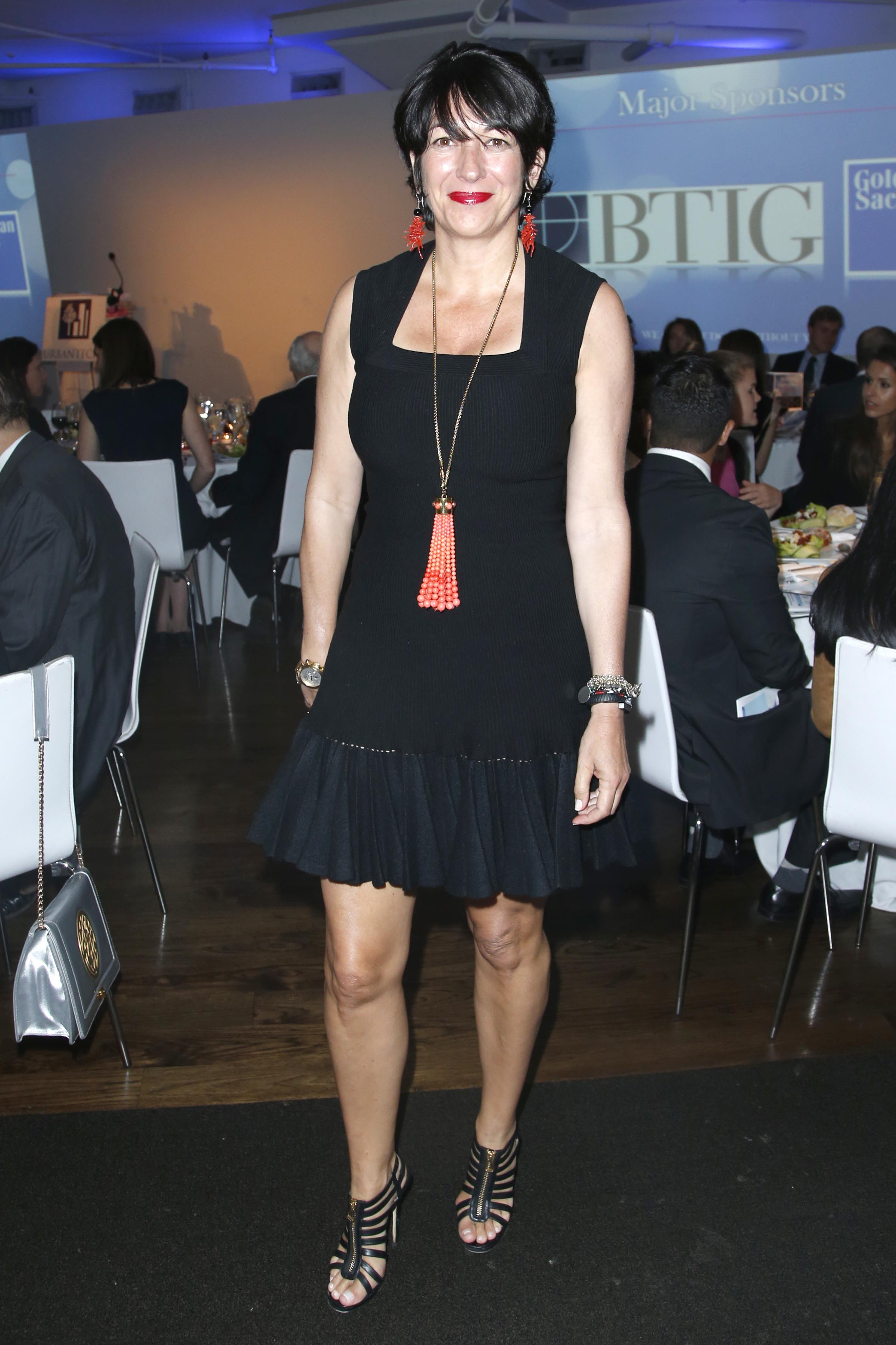 NEW YORK, NY - JUNE 11: Ghislaine Maxwell attends NATIONAL URBAN TECH CENTER 2014 Gala at Three Sixty on June 11, 2014 in New York City. (Photo by Jimi Celeste/Patrick McMullan via Getty Images)