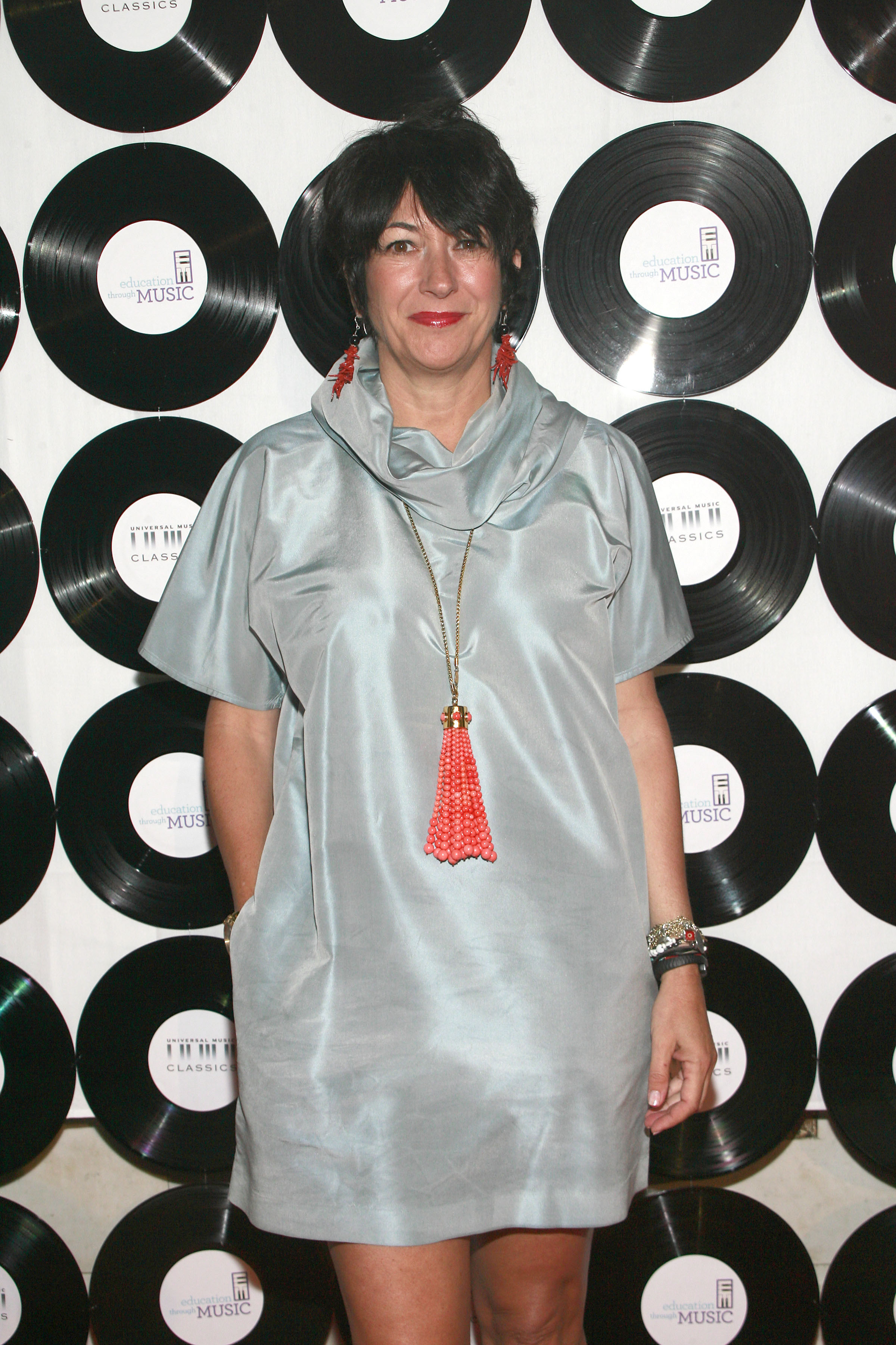 NEW YORK, NY - MAY 6: Ghislaine Maxwell attends EDUCATION THROUGH MUSIC Annual Children's Benefit Gala at Capitale on May 6, 2014 in New York City. (Photo by Sylvain Gaboury/Patrick McMullan via Getty Images)